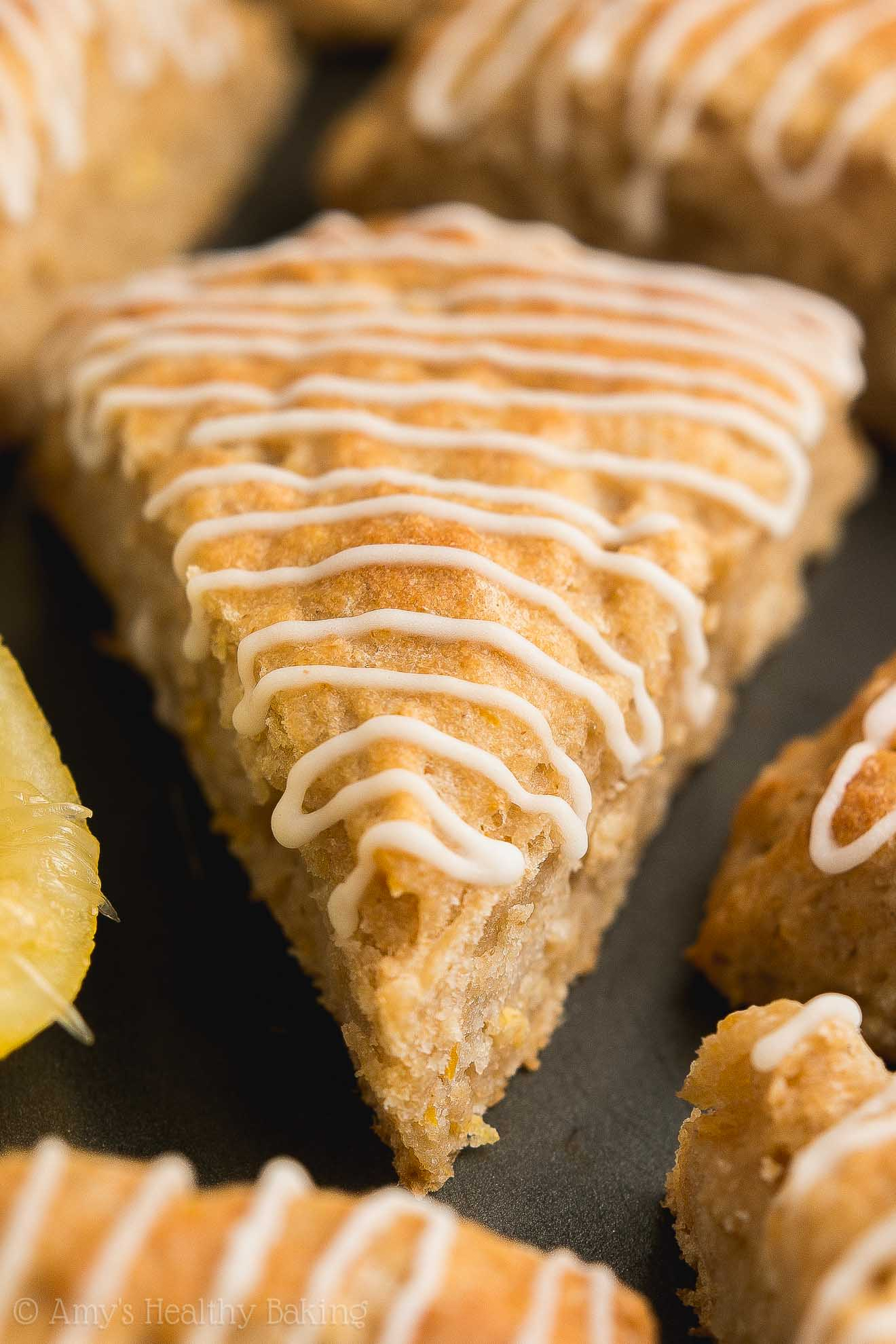 Best Healthy Homemade Lemon Scones with no eggs