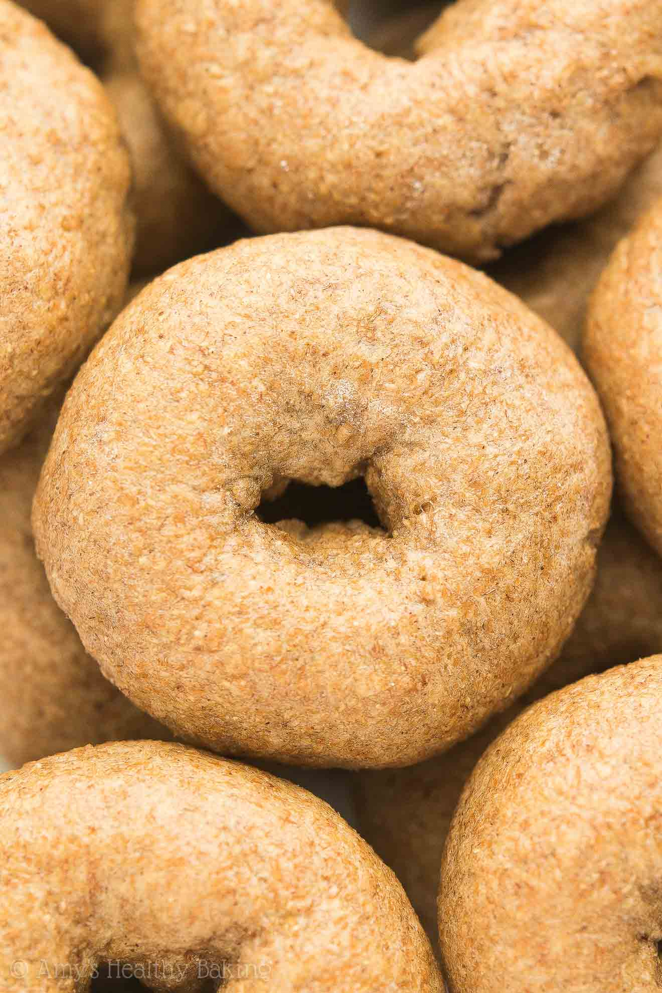 The Best Healthy Homemade Mini Bagels, freshly baked!