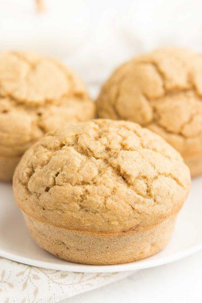 Healthy Small Batch Banana Muffins