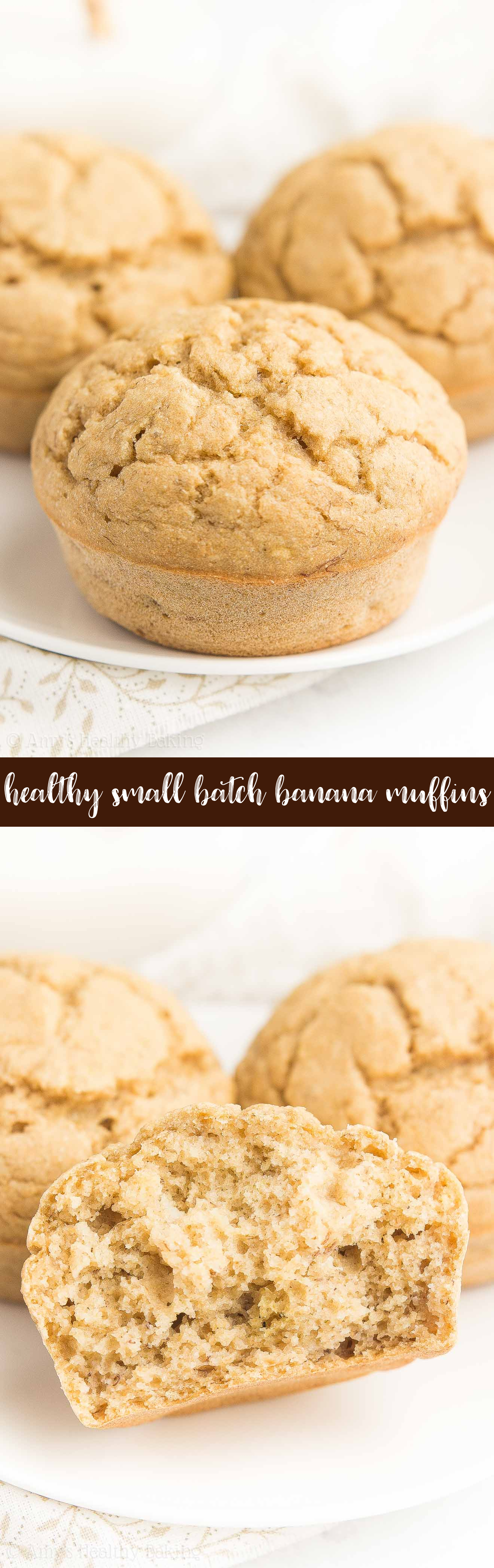 The BEST Healthy Low-Calorie Banana Muffins Recipe