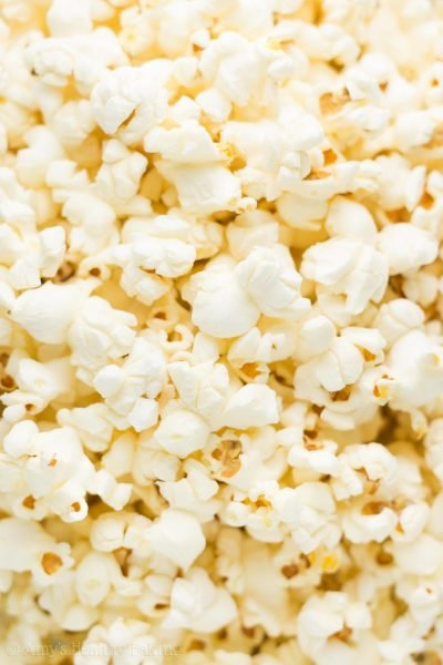 Healthy Stovetop Air Popped Popcorn