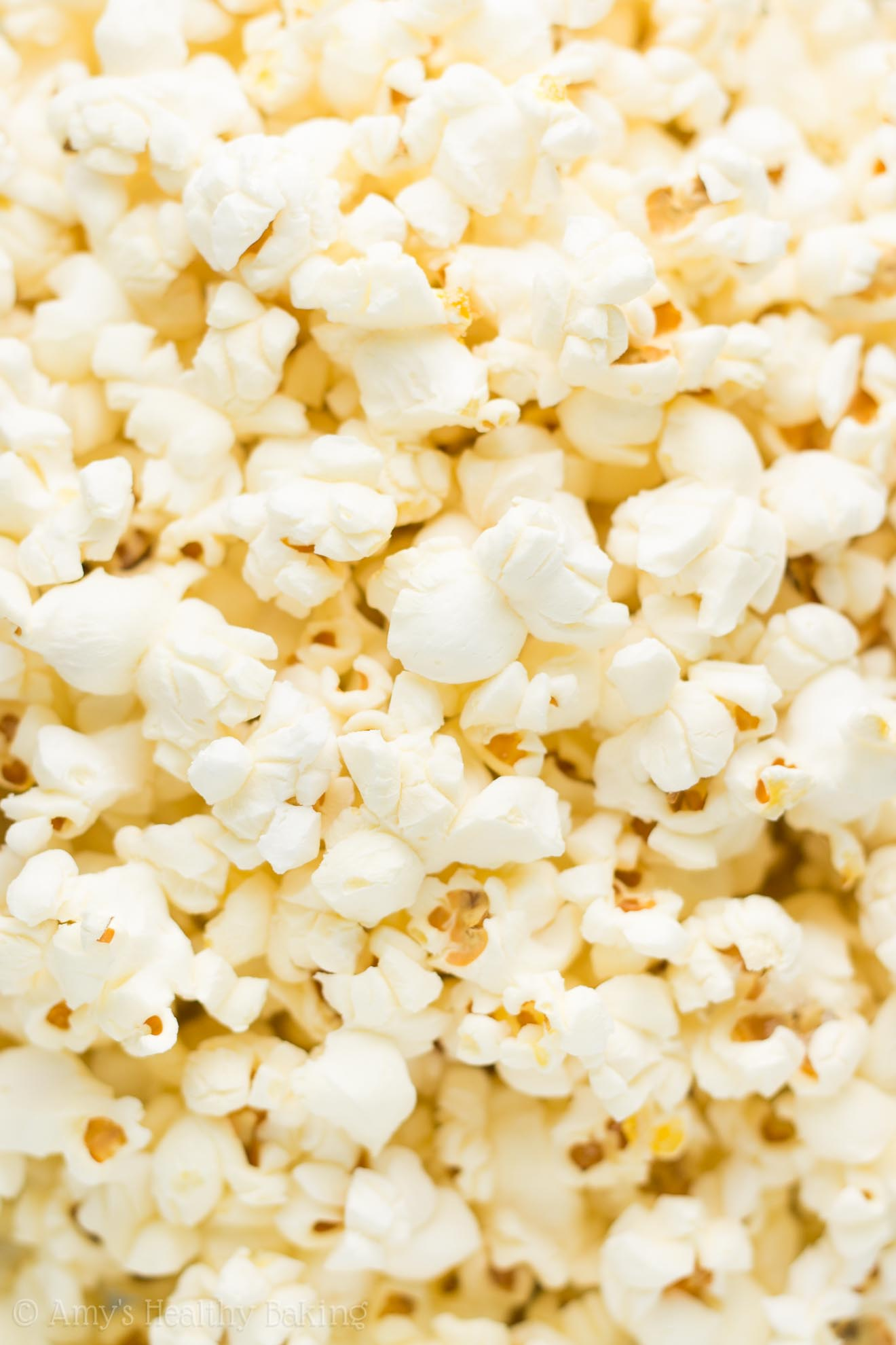 The best way to make Homemade Air Popped Popcorn