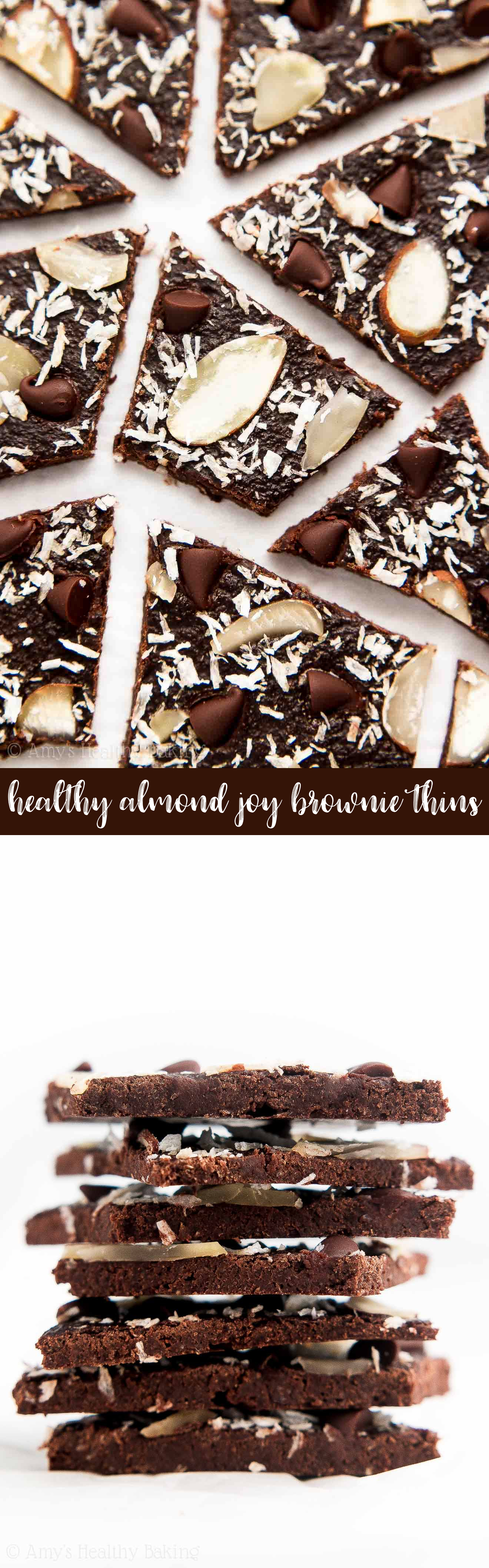 the best healthy homemade brownie brittle (weight watchers points included)