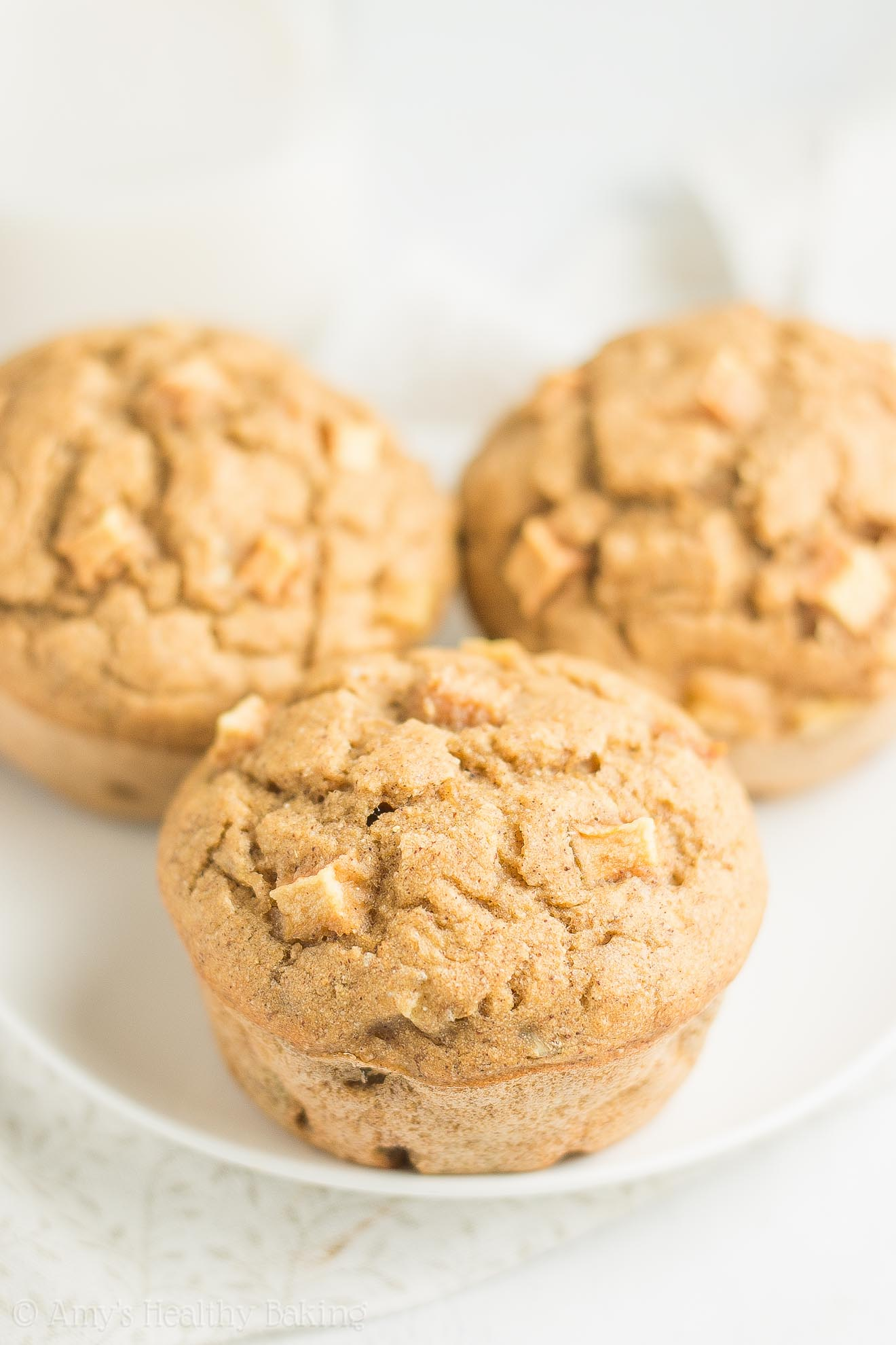 Healthy Gluten-Free Cinnamon Apple Banana Muffins