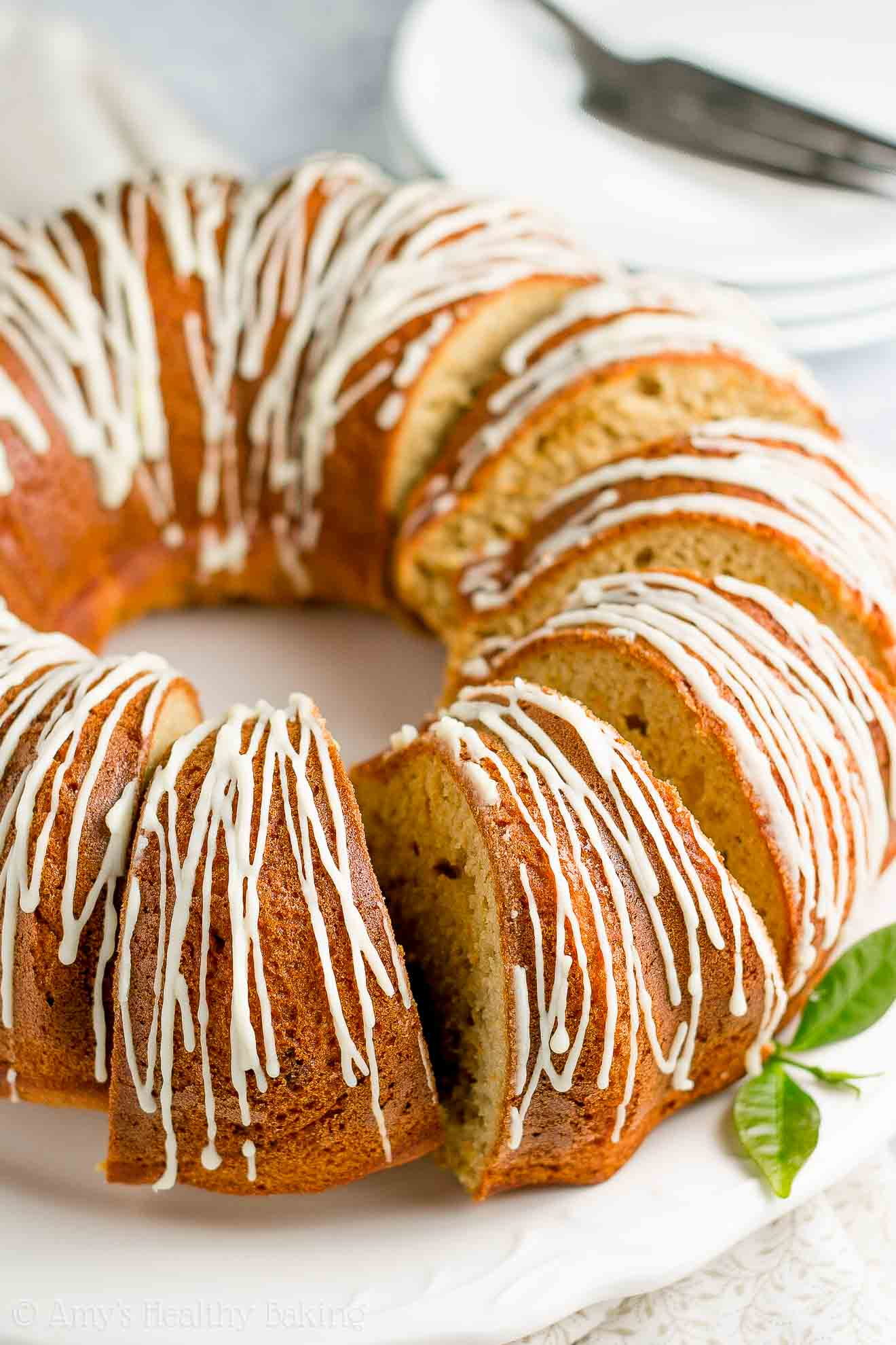 Gluten-Free Healthy Orange Bundt Cake Recipe, made from scratch