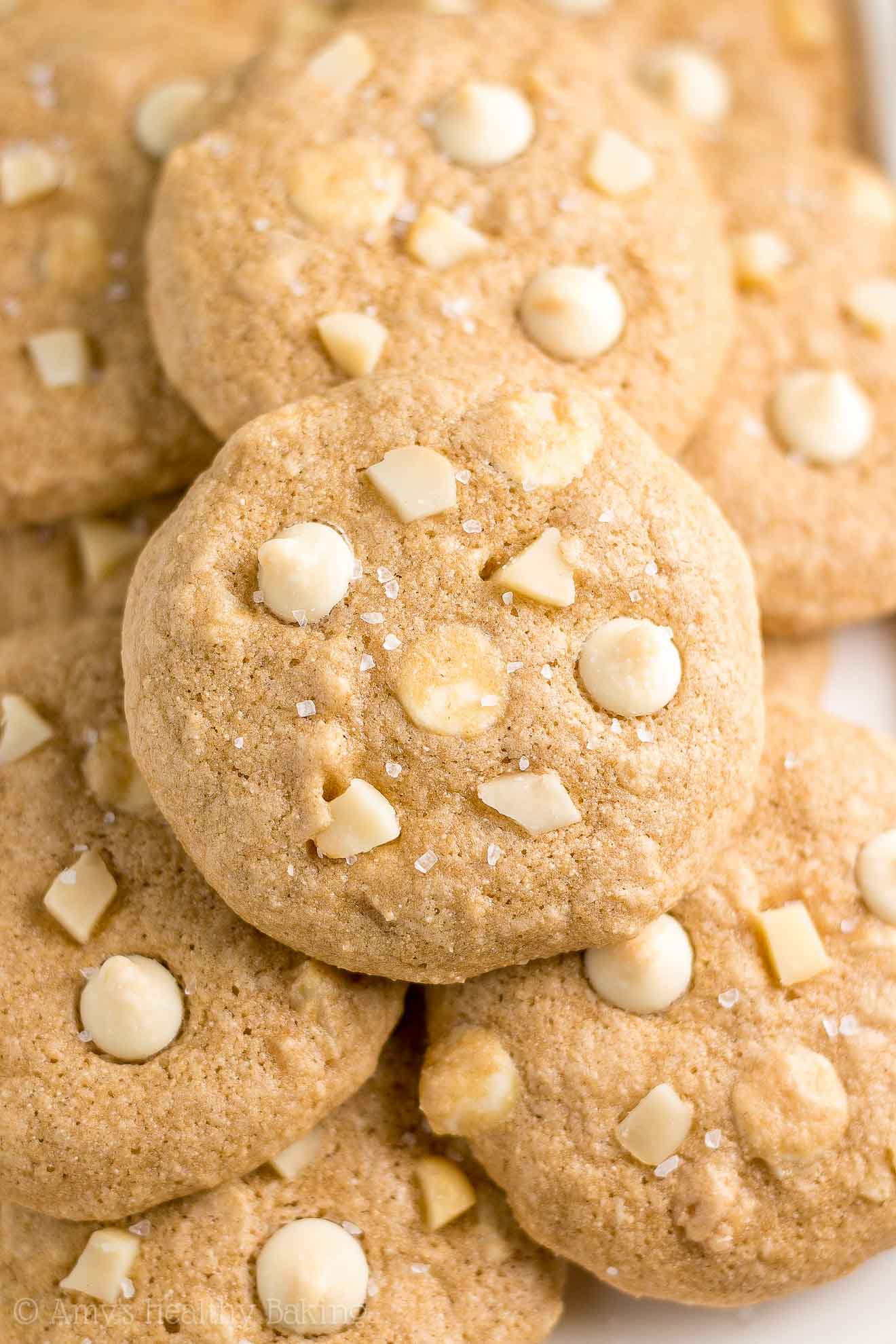 Best Healthy White Chocolate Macadamia Nut Cookies with weight watchers points