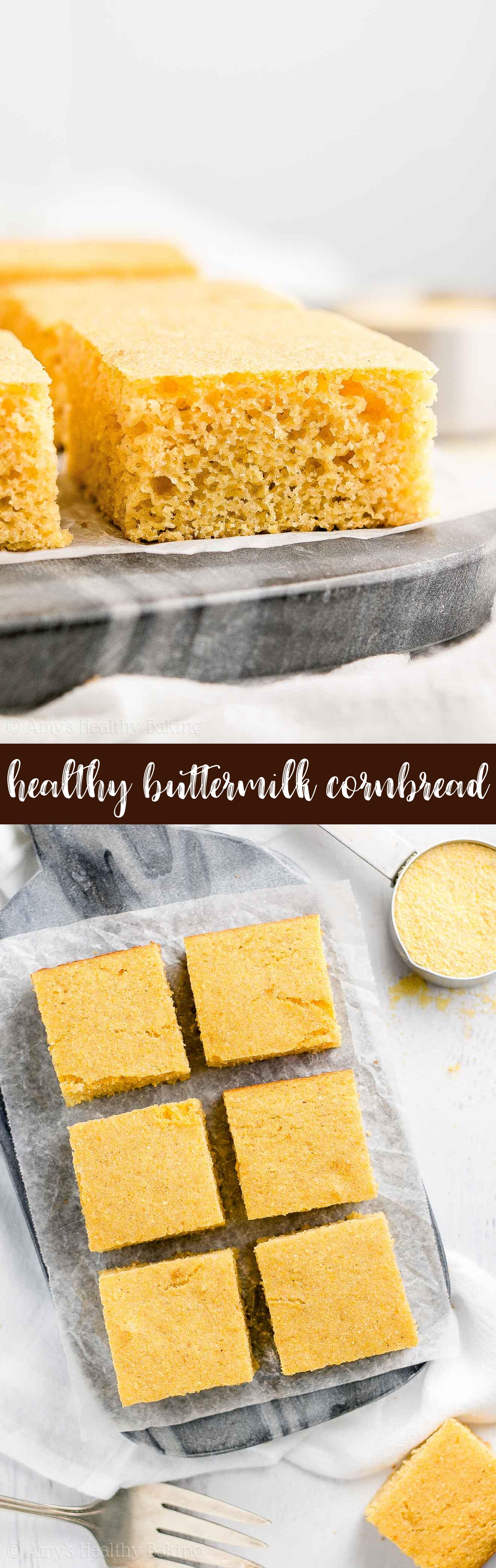 The Best Moist and Healthy Homemade Honey Buttermilk Cornbread