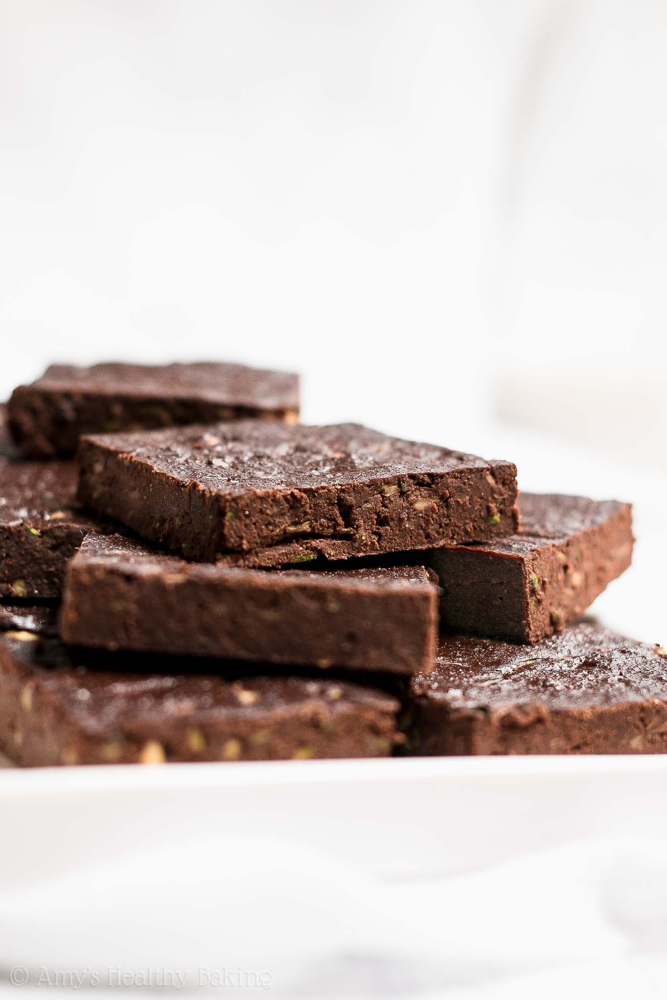 Easy Weight Watchers Healthy Chocolate Zucchini Brownies