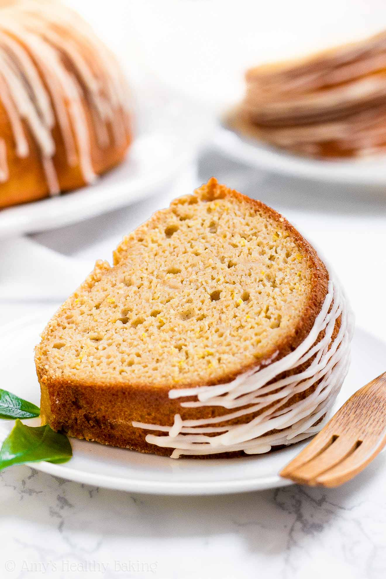 The Ultimate Healthy Lemon Bundt Cake