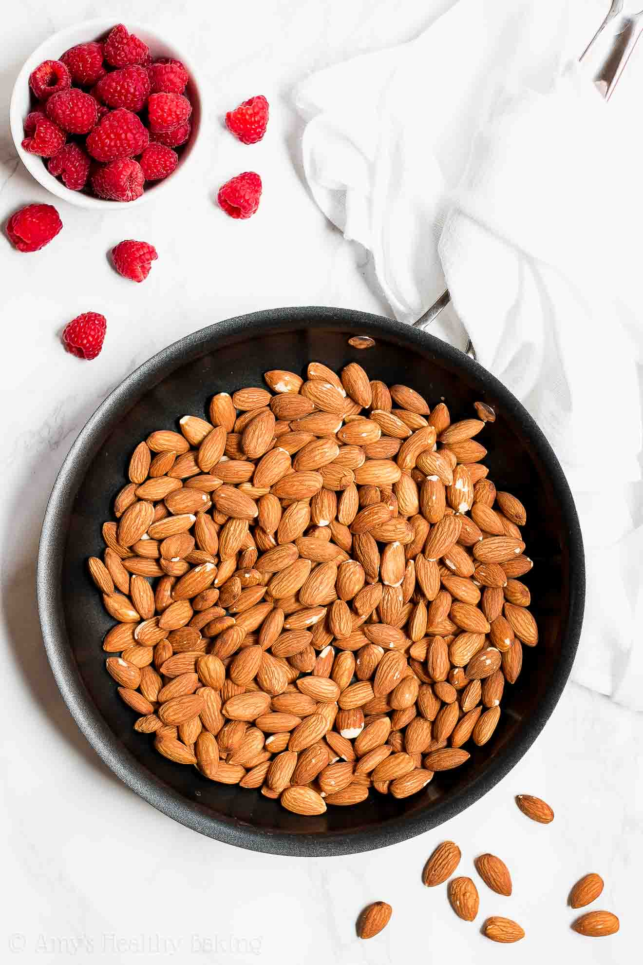How to make healthy oven roasted almonds