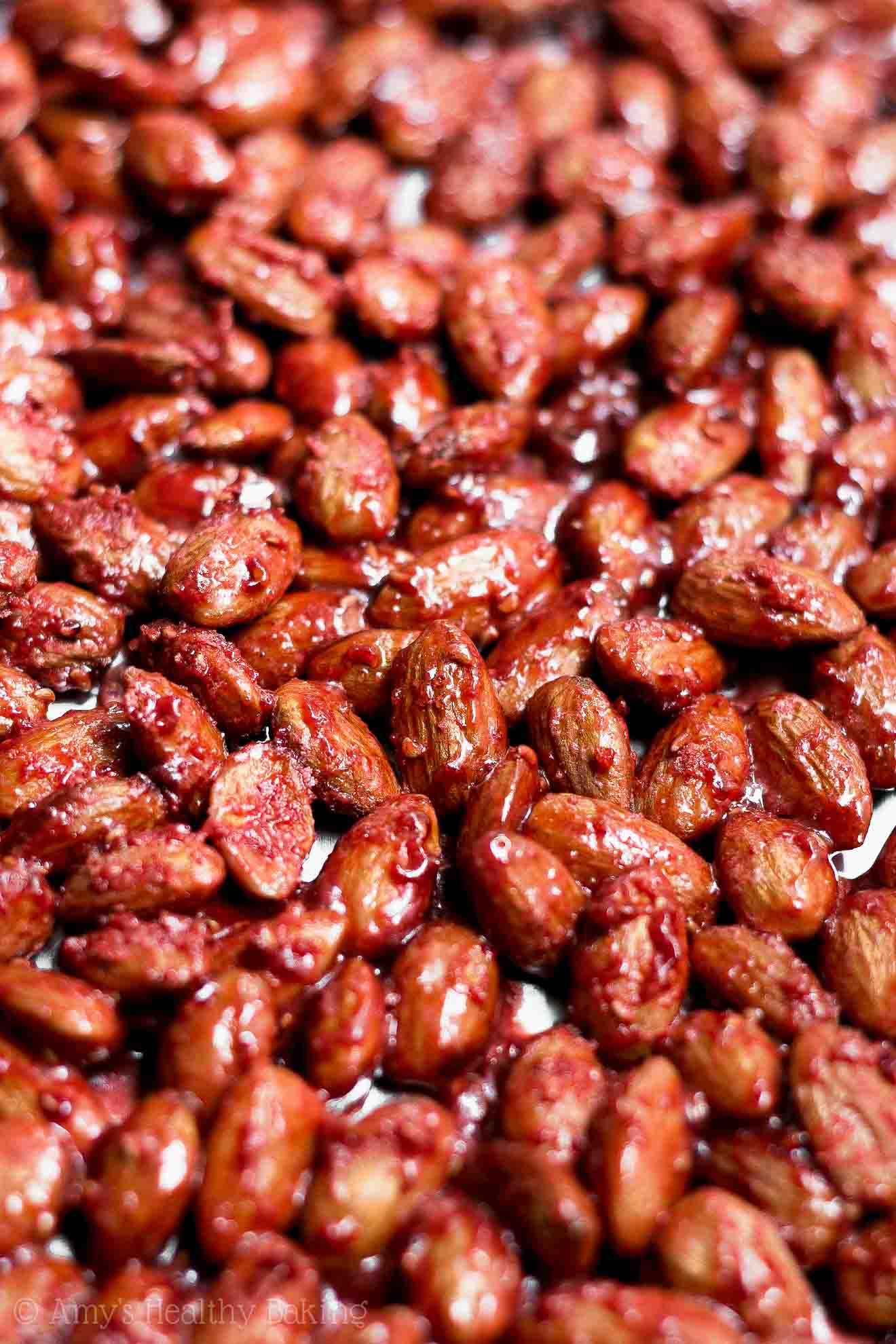 Healthy Blue Diamond Copycat Raspberry Glazed Almonds