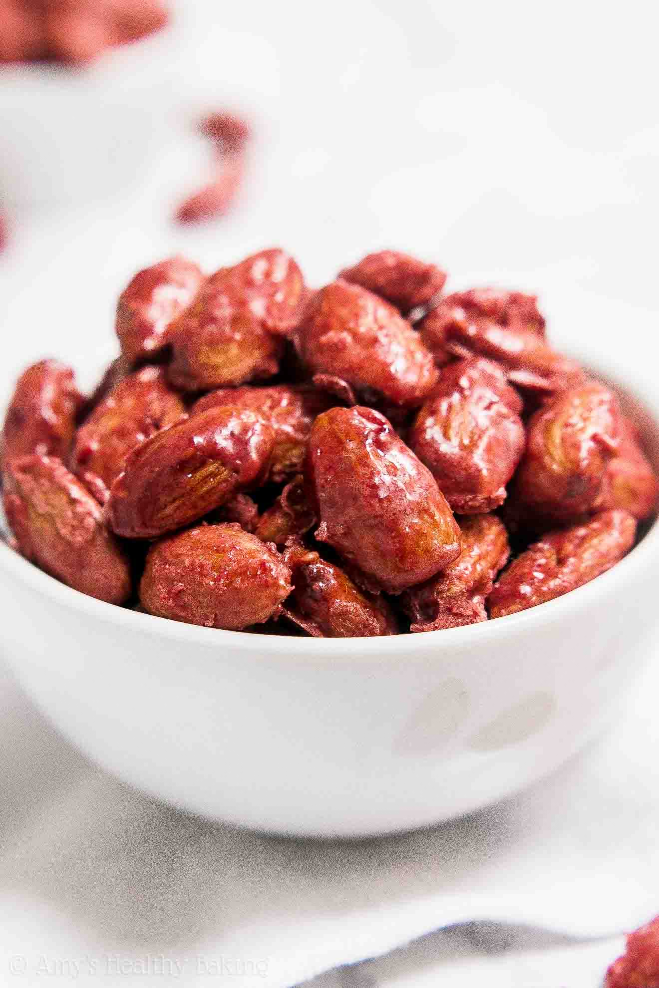 Healthy Copycat Emerald Nuts Raspberry Glazed Almonds