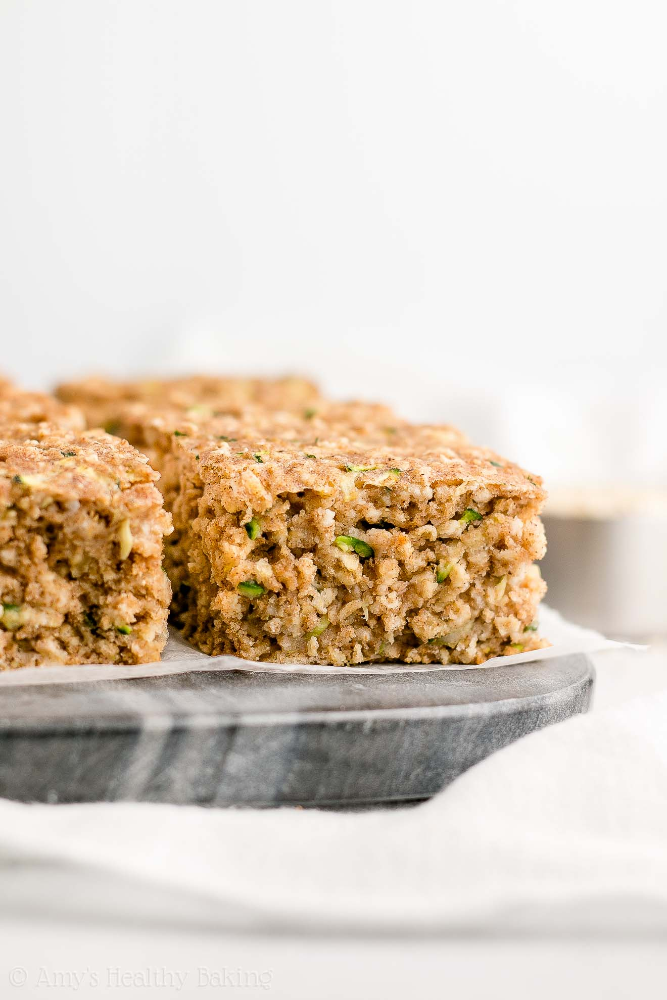 Moist and Healthy Zucchini Oatmeal Snack Cake for kids and adults
