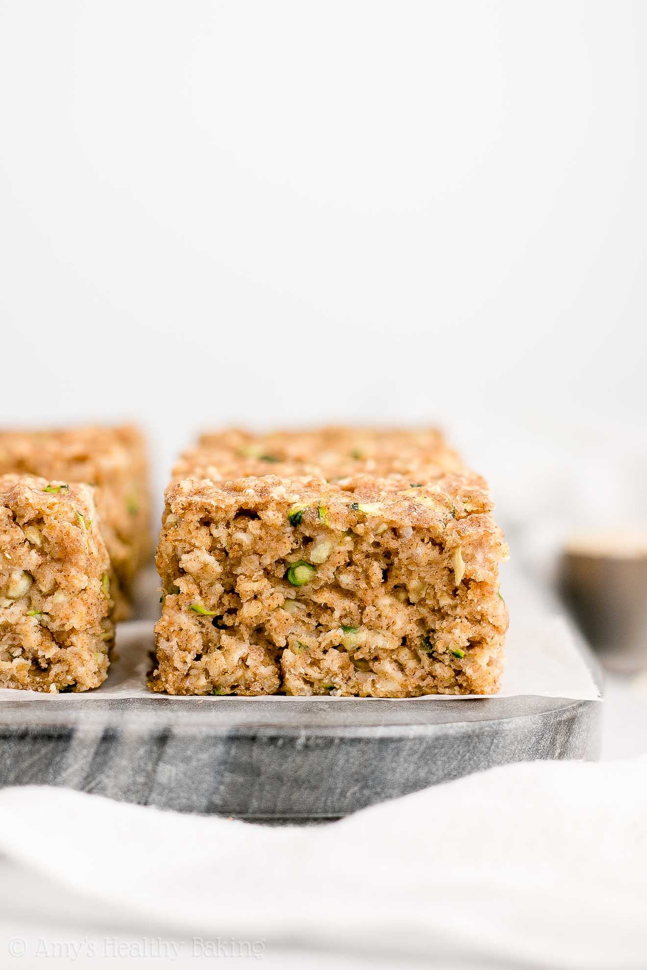 The Best Healthy Zucchini Oatmeal Snack and Breakfast Cake