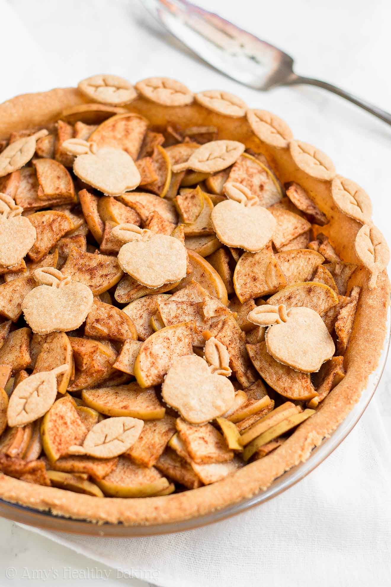 The ULTIMATE Healthy Homemade Clean Eating Apple Pie
