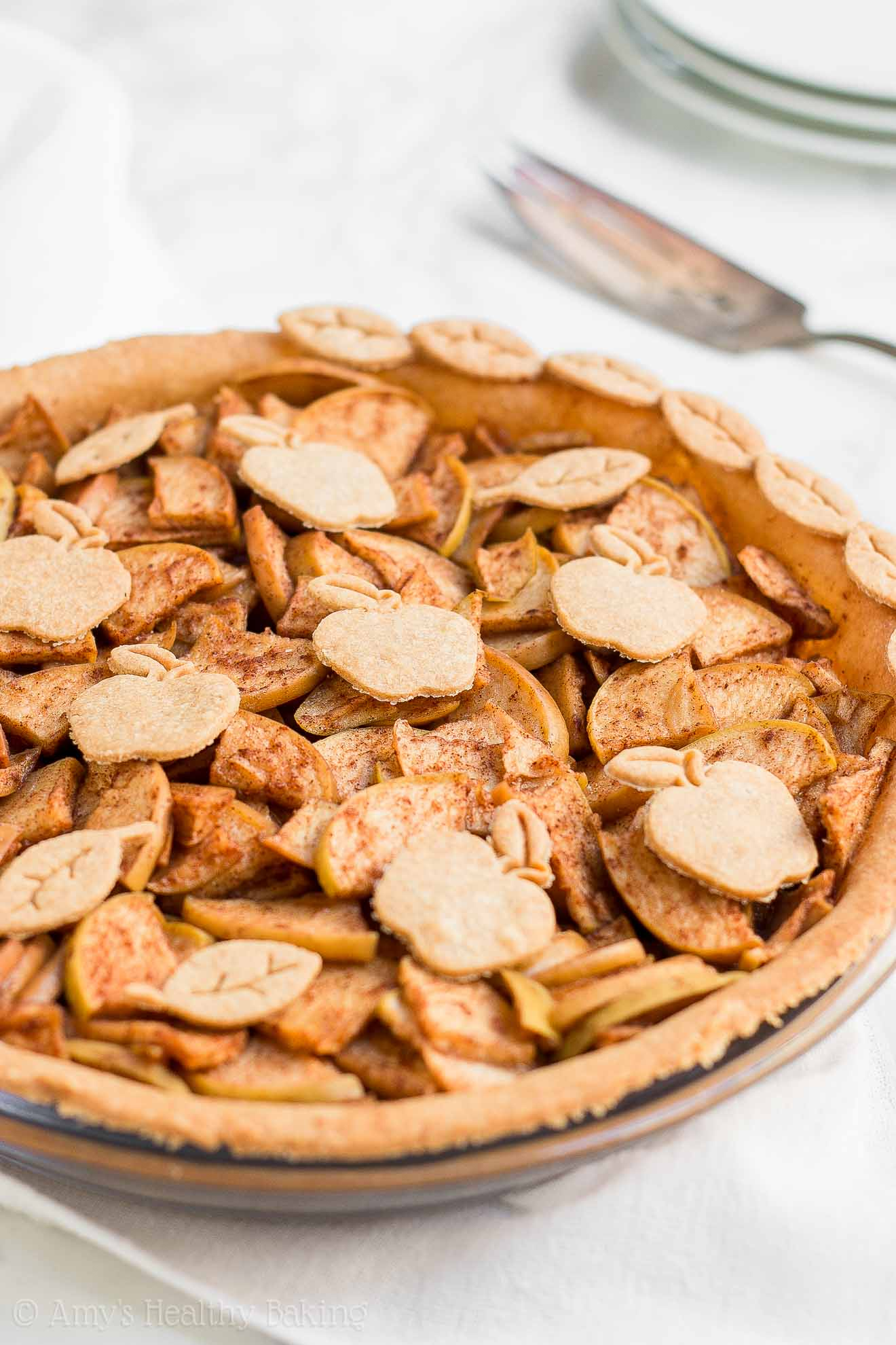 ULTIMATE Healthy Homemade Low-Calorie and Low-Sugar Apple Pie