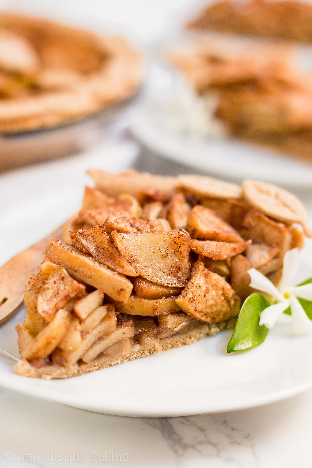 ULTIMATE Healthy Low-Calorie Apple Pie with Weight Watchers points