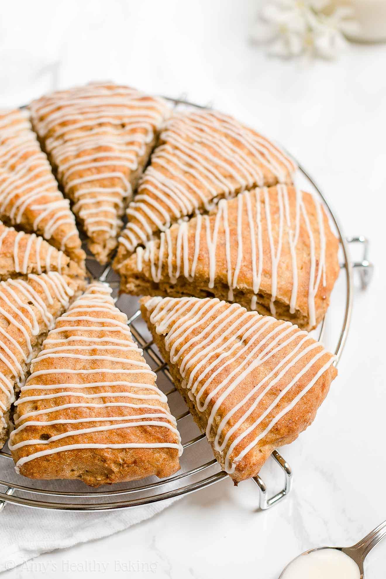 Moist Healthy Gluten Free Banana Buttermilk Scones