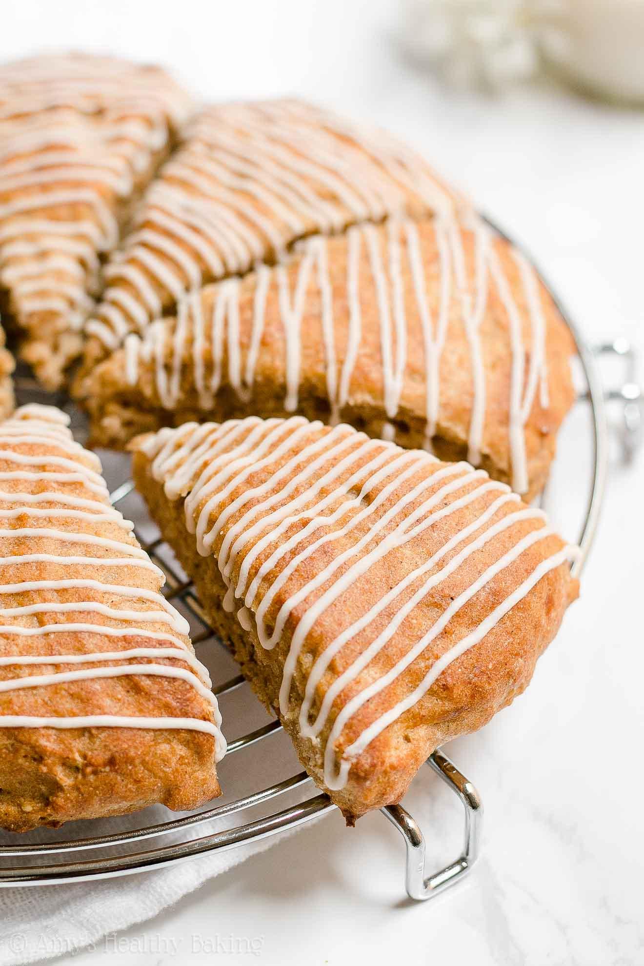 Moist Healthy Whole Wheat (Wholemeal) Banana Buttermilk Scones