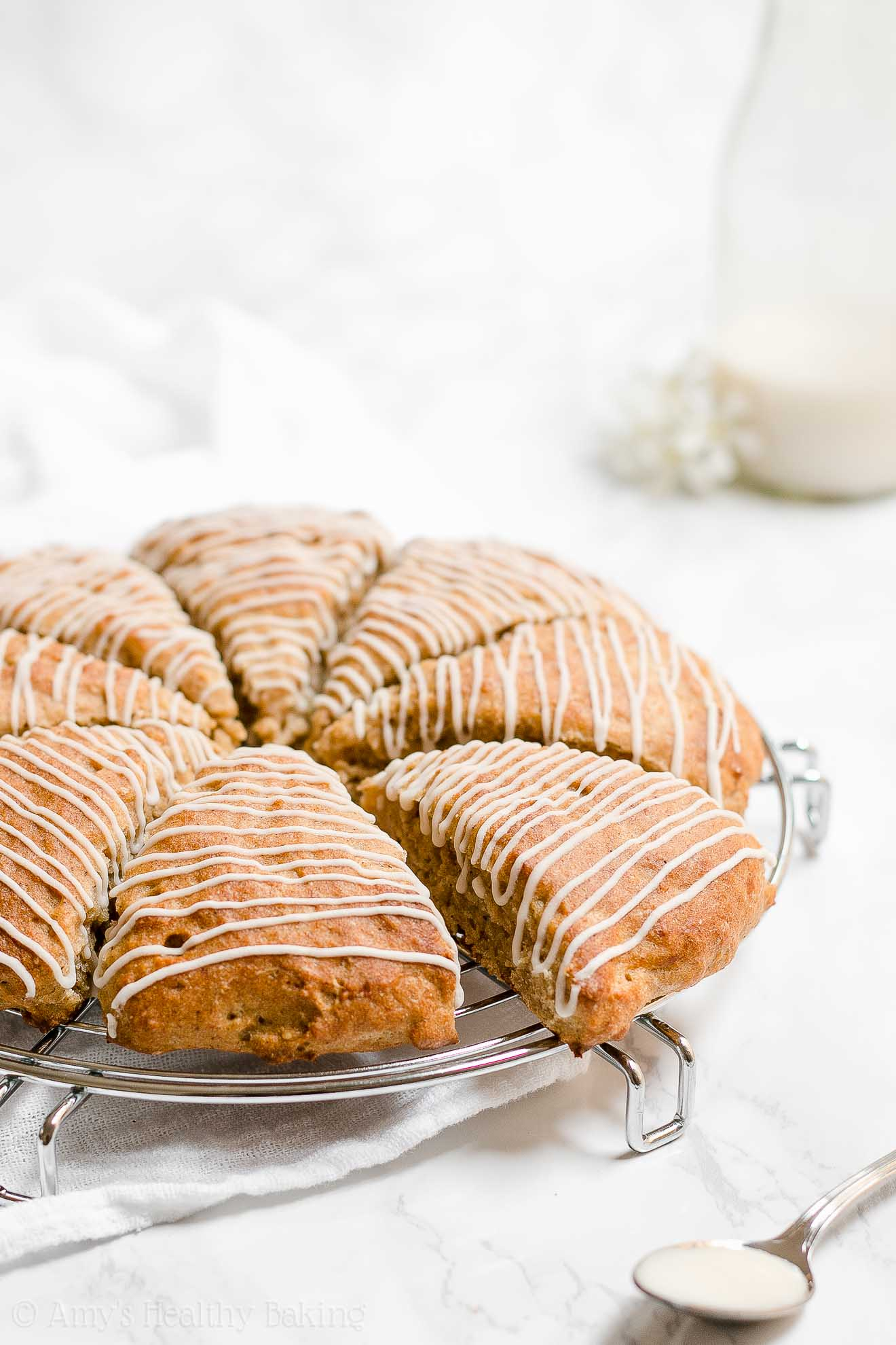Healthy Low Fat and Low Calorie Banana Buttermilk Scones