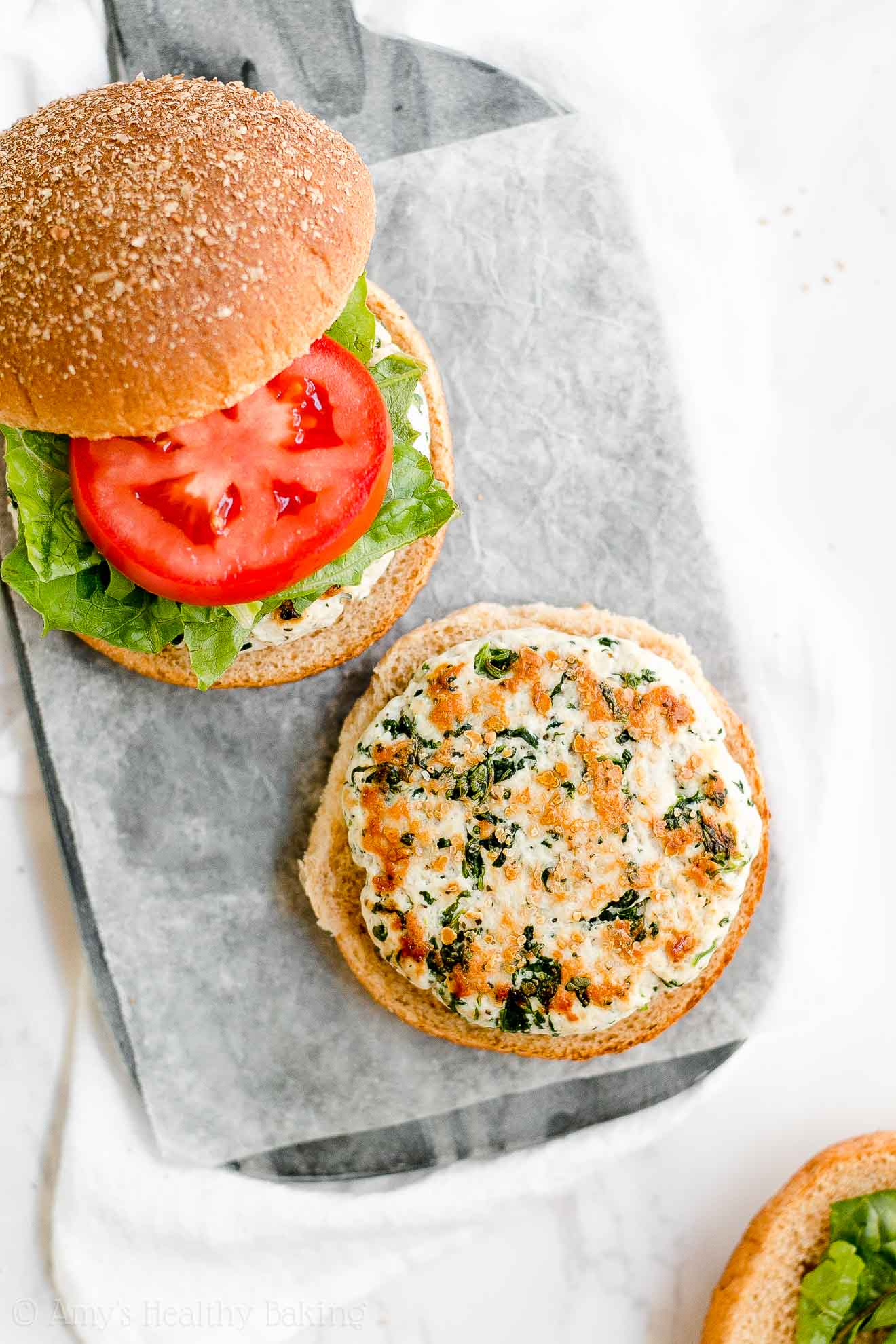 ULTIMATE Healthy Turkey Burgers with weight watchers points