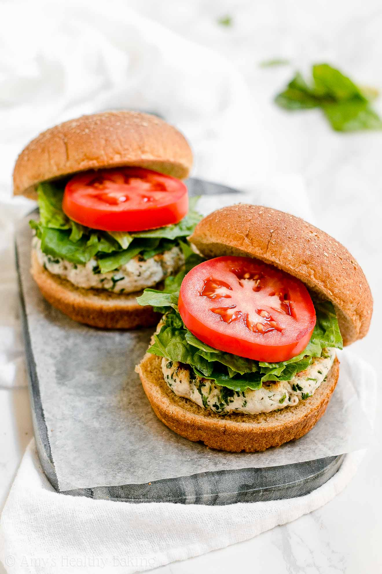 ULTIMATE Healthiest Gluten Free Turkey Burgers without bread