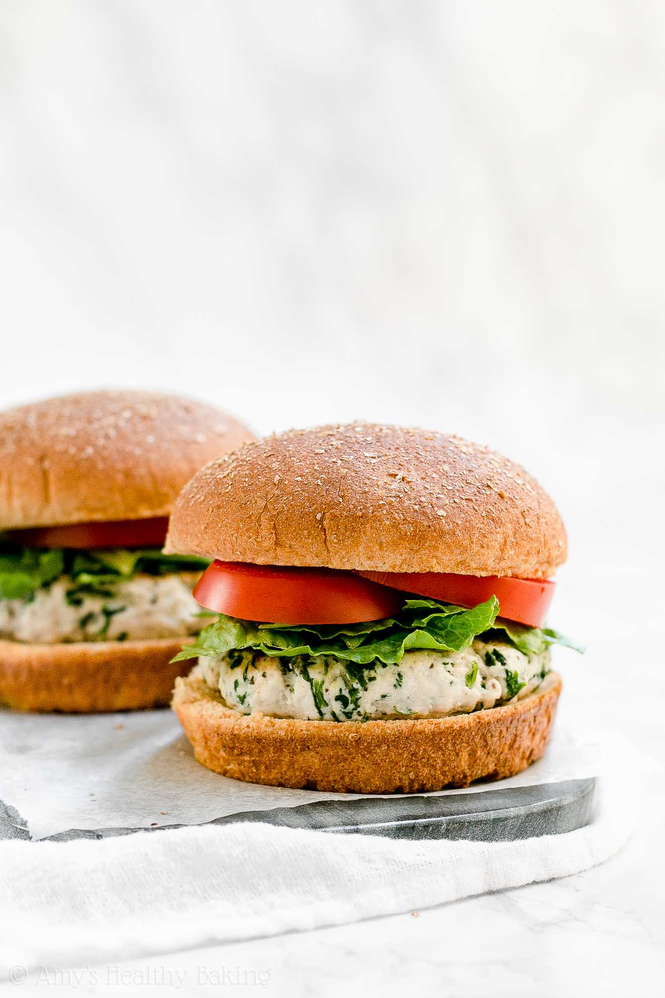 ULTIMATE Healthy High Protein Low Fat Turkey Burgers