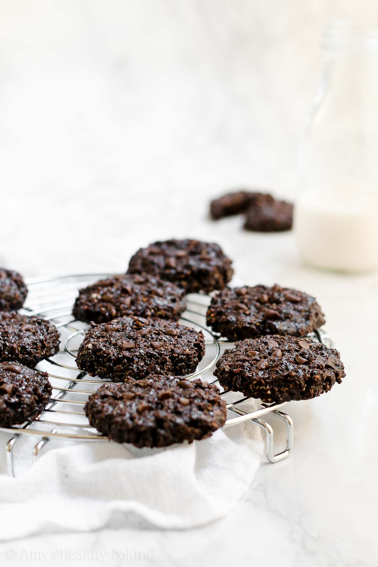 Best Gluten Free Healthy Flourless Chocolate Oatmeal Cookies