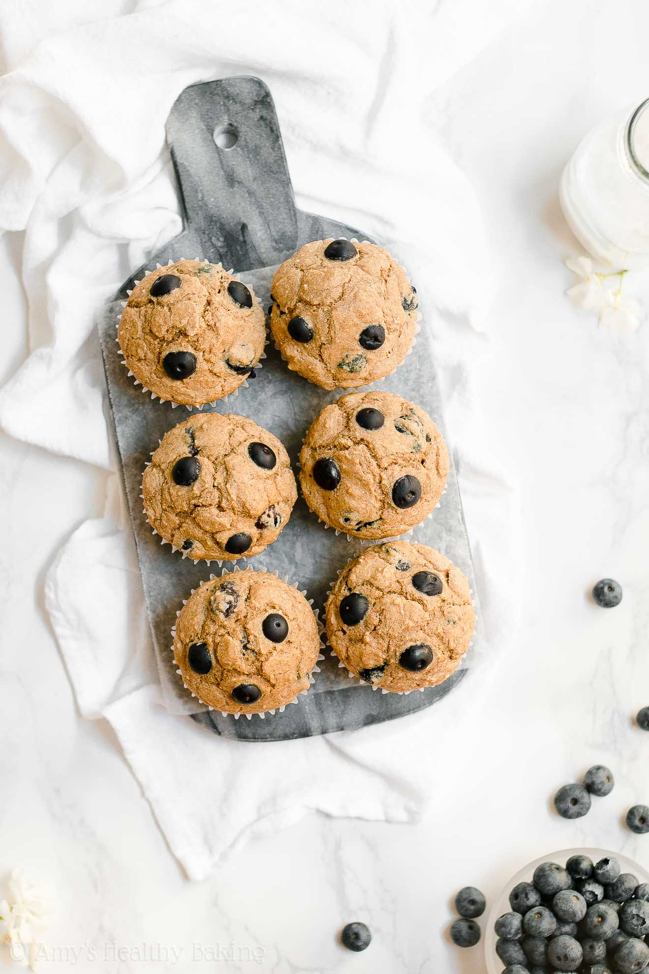 ULTIMATE Healthy Gluten Free Sugar Free Blueberry Oatmeal Muffins