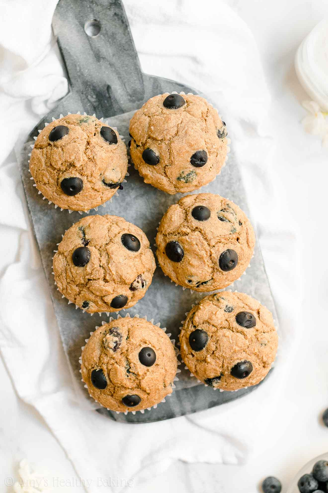 ULTIMATE Healthy Low Calorie No Sugar Blueberry Oatmeal Muffins