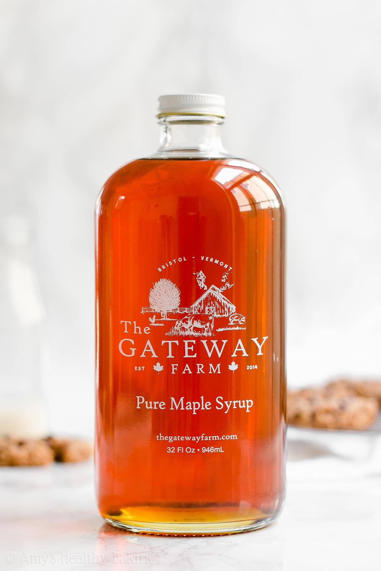 The Gateway Farm Pure Maple Syrup | Glass Quart