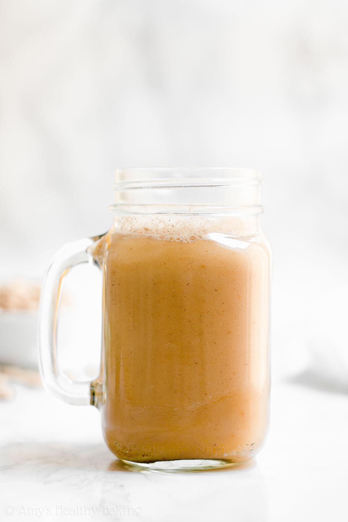 Best Easy Healthy Skinny Sugar Free Pumpkin Spice Chai Latte
