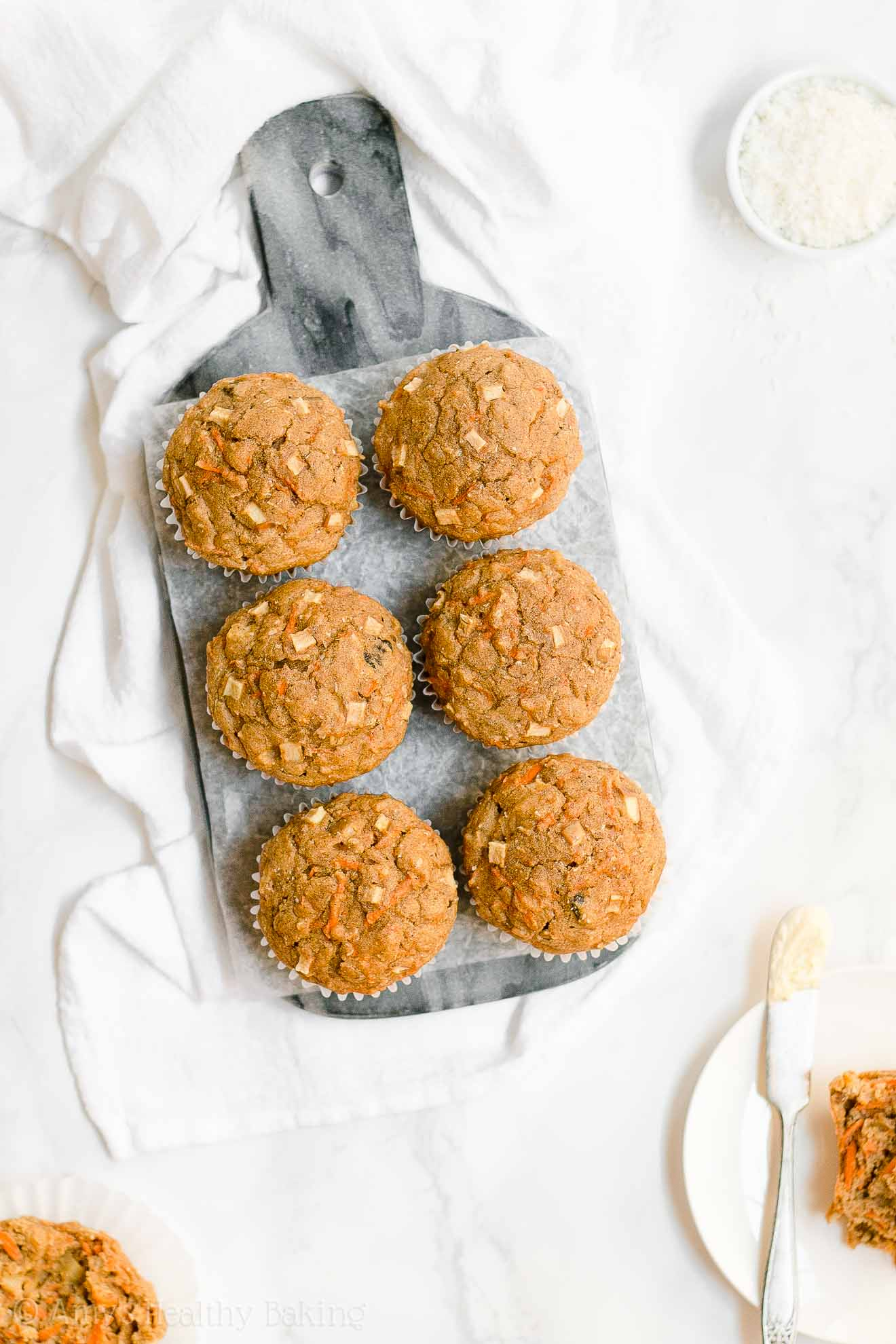 ULTIMATE Healthy Easy Whole Wheat Morning Glory Muffins