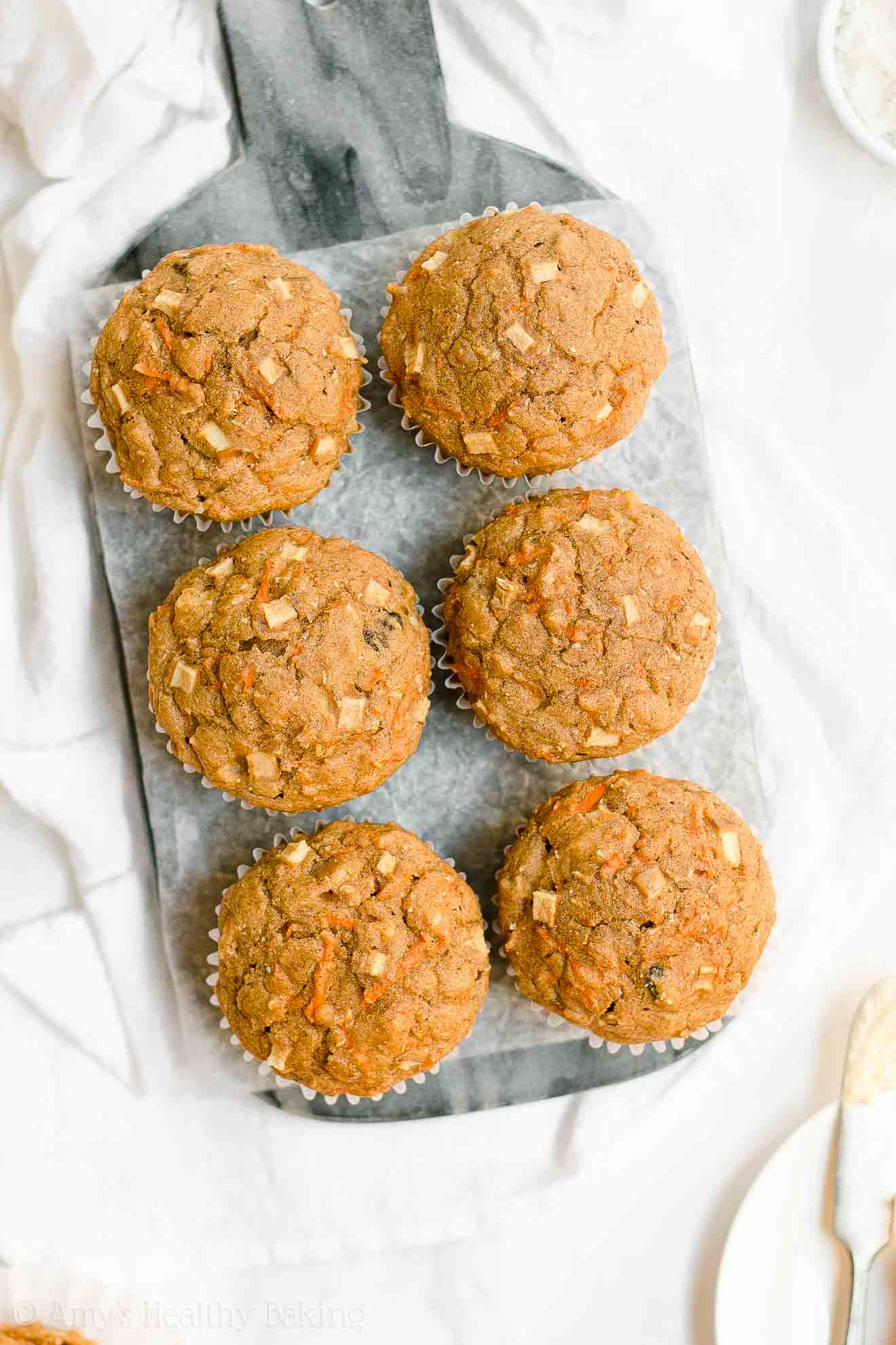 Best Ever Healthy Moist No Sugar Morning Glory Muffins