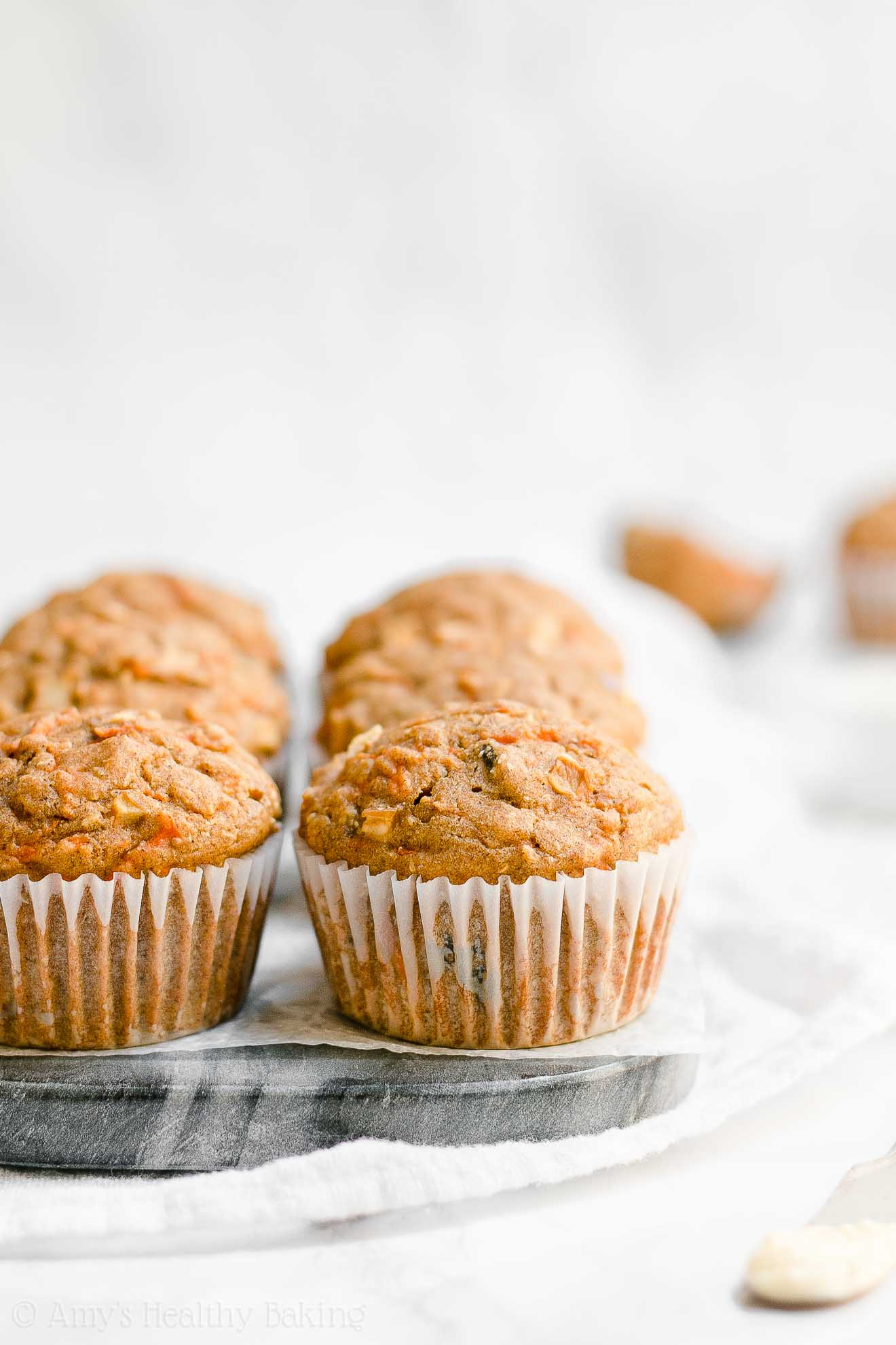 ULTIMATE Healthy Clean Eating Morning Glory Muffins