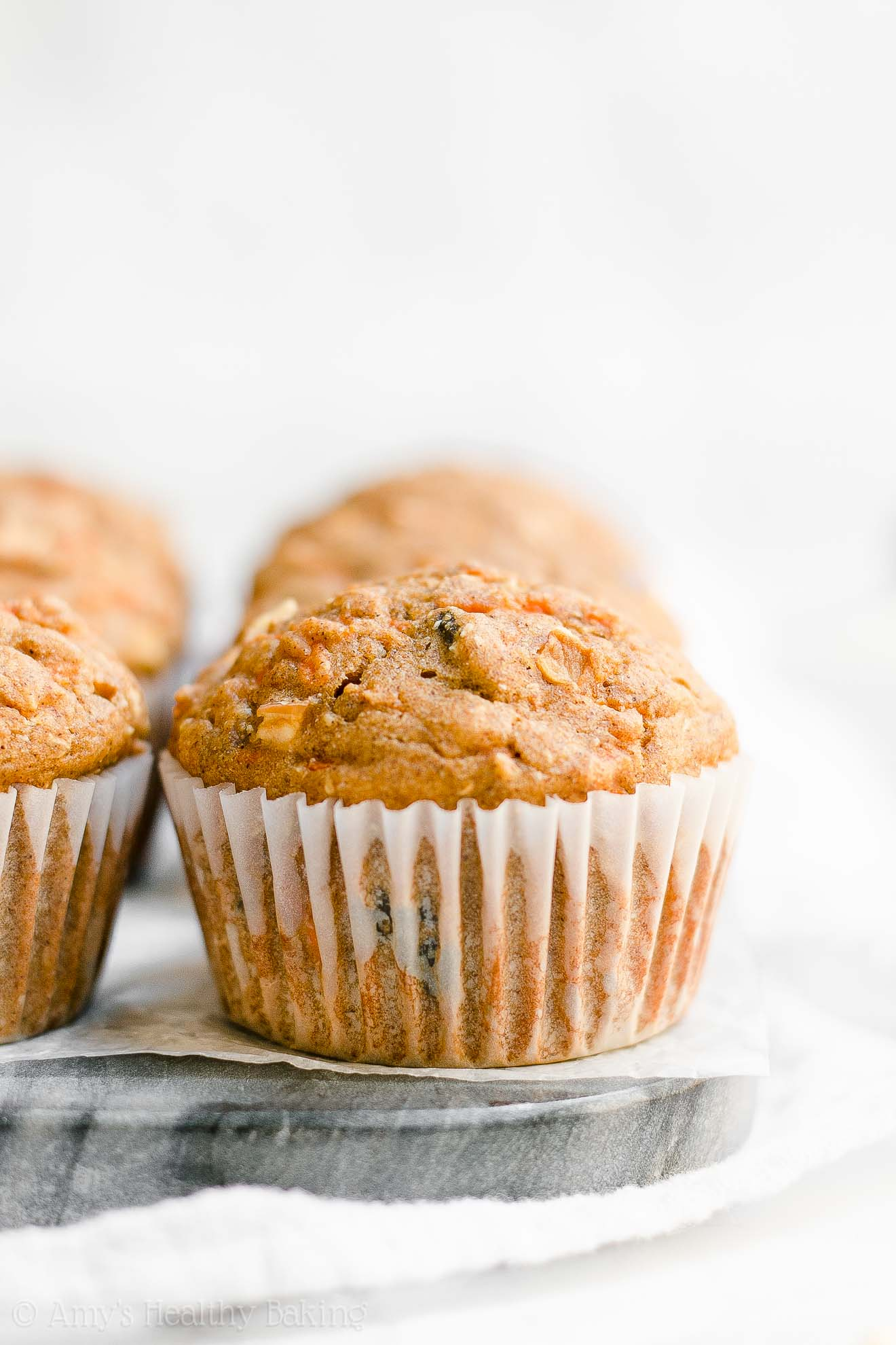 Best Ever Healthy Morning Glory Muffins with Weight Watchers Points