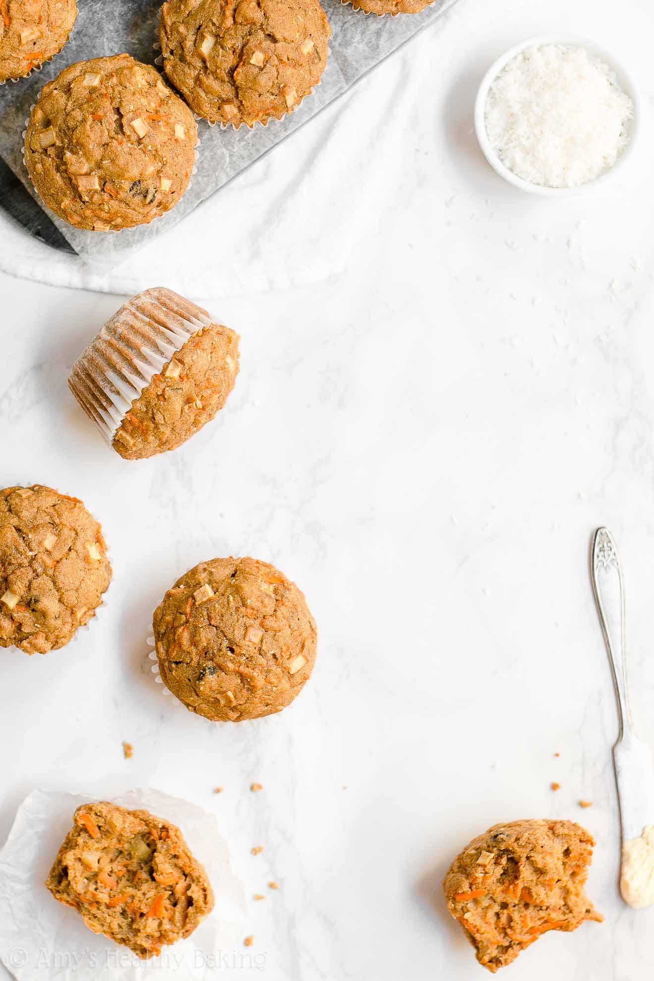 ULTIMATE Healthy Super Moist Low Fat Morning Glory Muffins