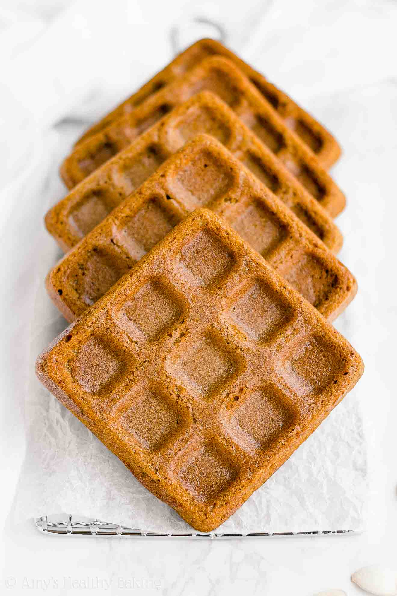 Best Healthy Fluffy No Sugar Greek Yogurt Pumpkin Waffles