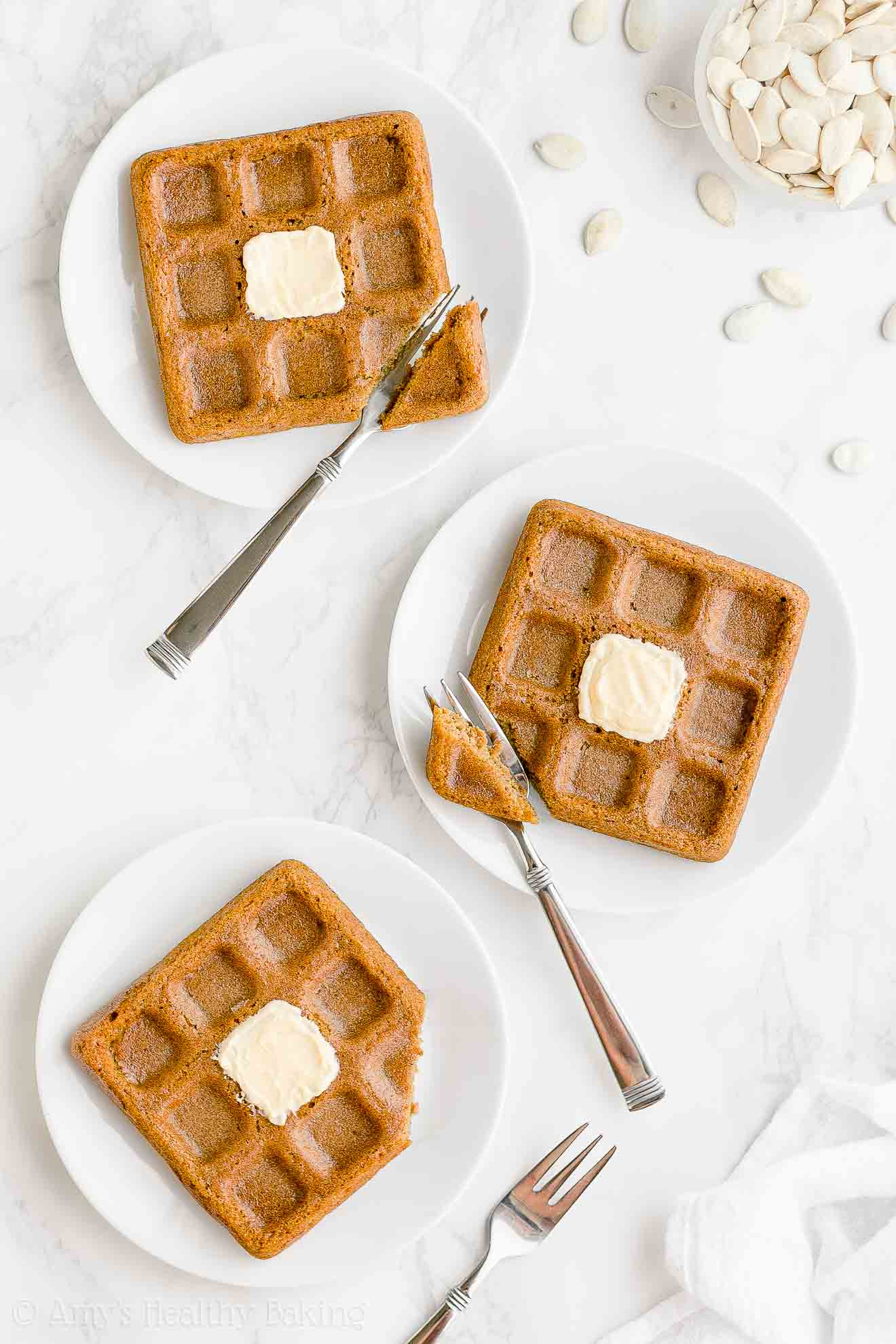 Best Easy Healthy Fluffy Whole Wheat Pumpkin Waffles