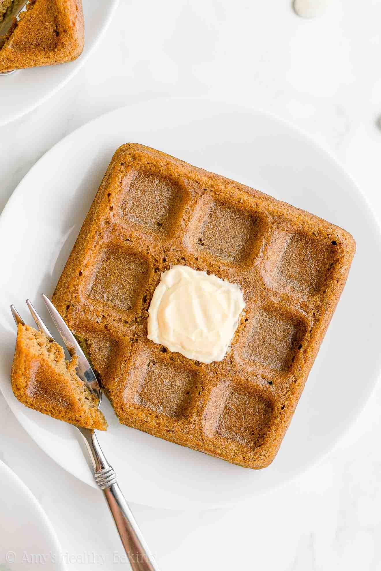 Best Healthy Fluffy Weight Watchers Whole Wheat Pumpkin Waffles