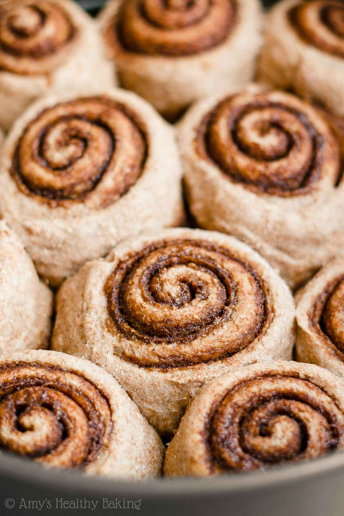 Healthy Fluffy Homemade Chai Spice Cinnamon Rolls with Yeast