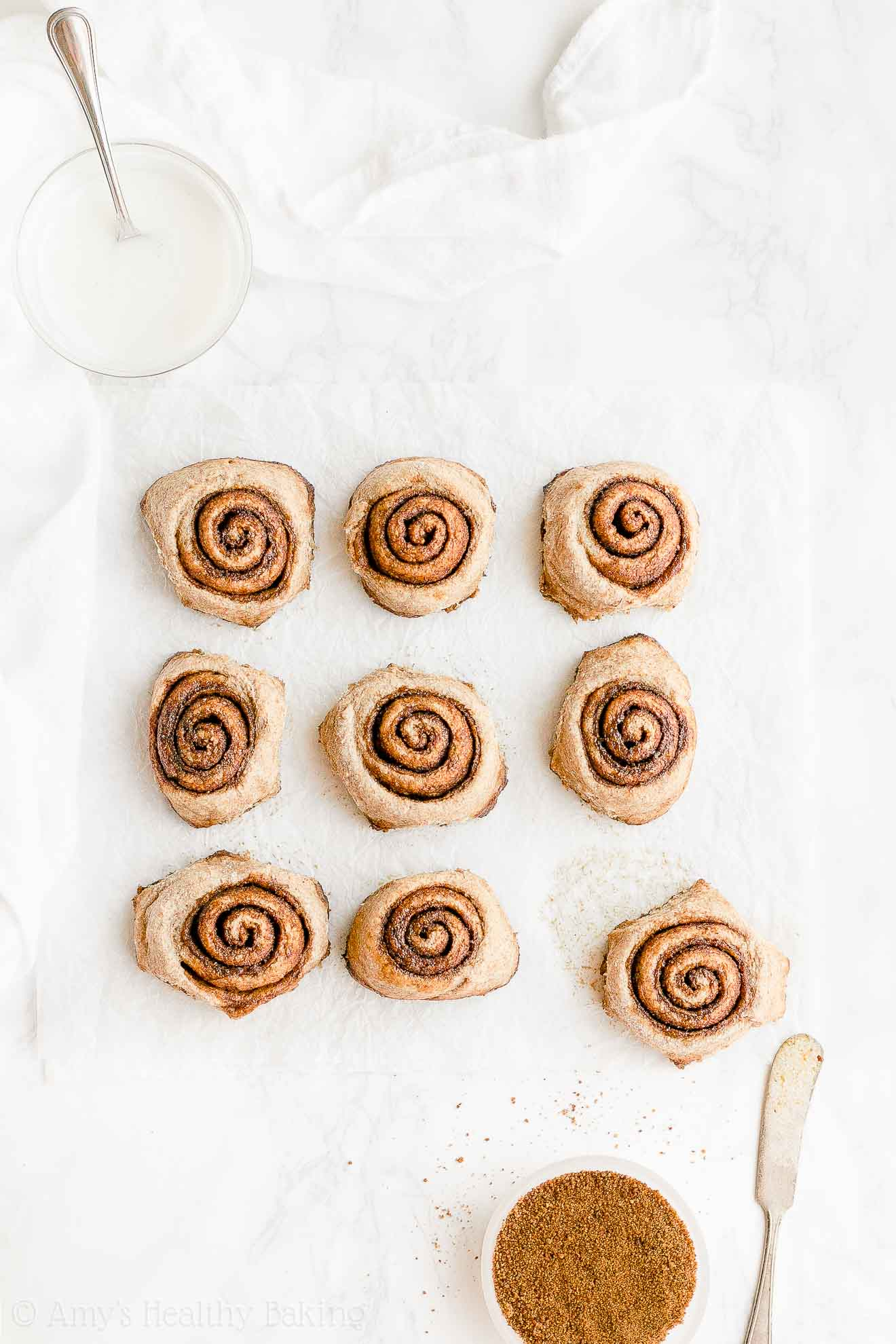 Healthy Homemade Chai Spice Cinnamon Rolls From Scratch