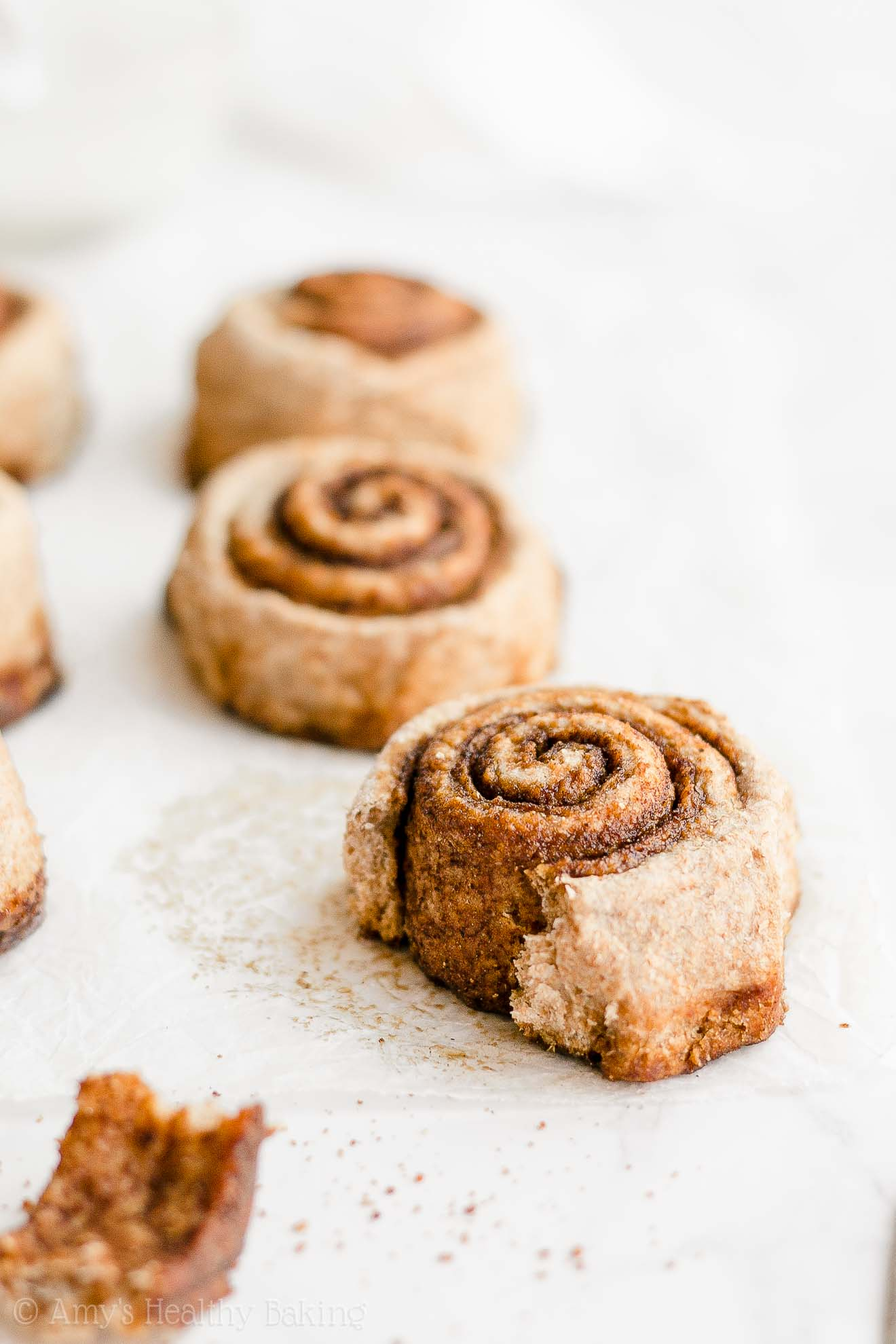 Healthy Chai Spice Cinnamon Rolls with Weight Watchers Points