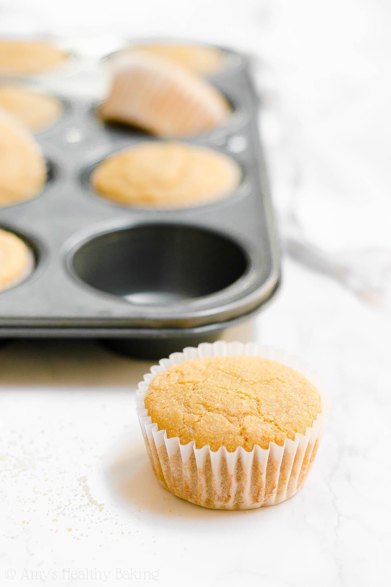 ULTIMATE Easy Healthy Simple Clean Eating Honey Cornbread Muffins