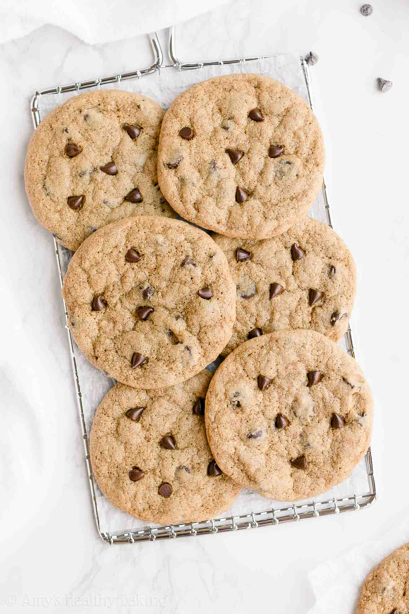 Healthy One Bowl Chocolate Chip Cookies Amy S Healthy Baking
