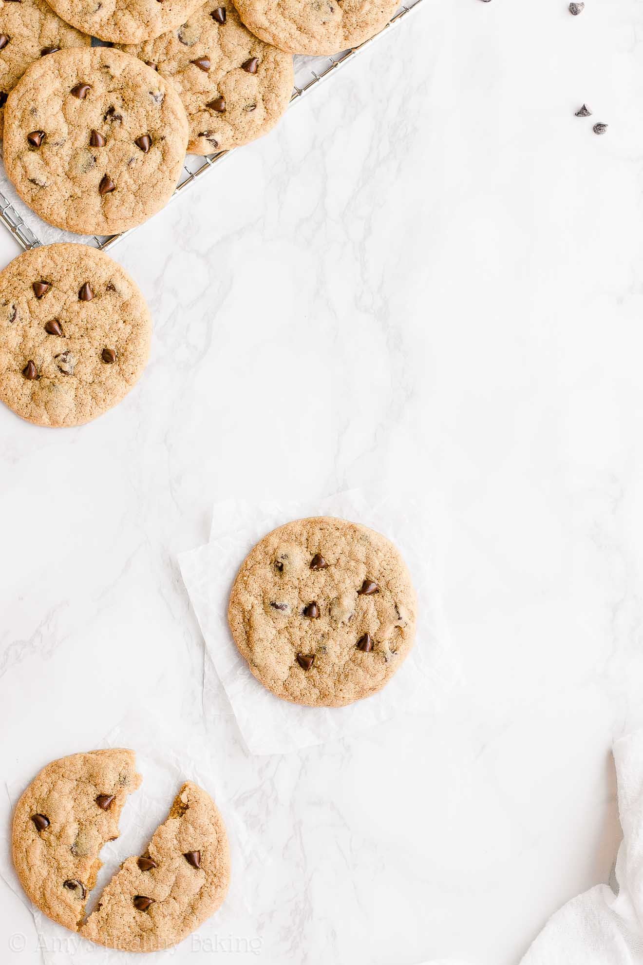 Best Easy Healthy Egg-Free Small Batch One-Bowl Chocolate Chip Cookies