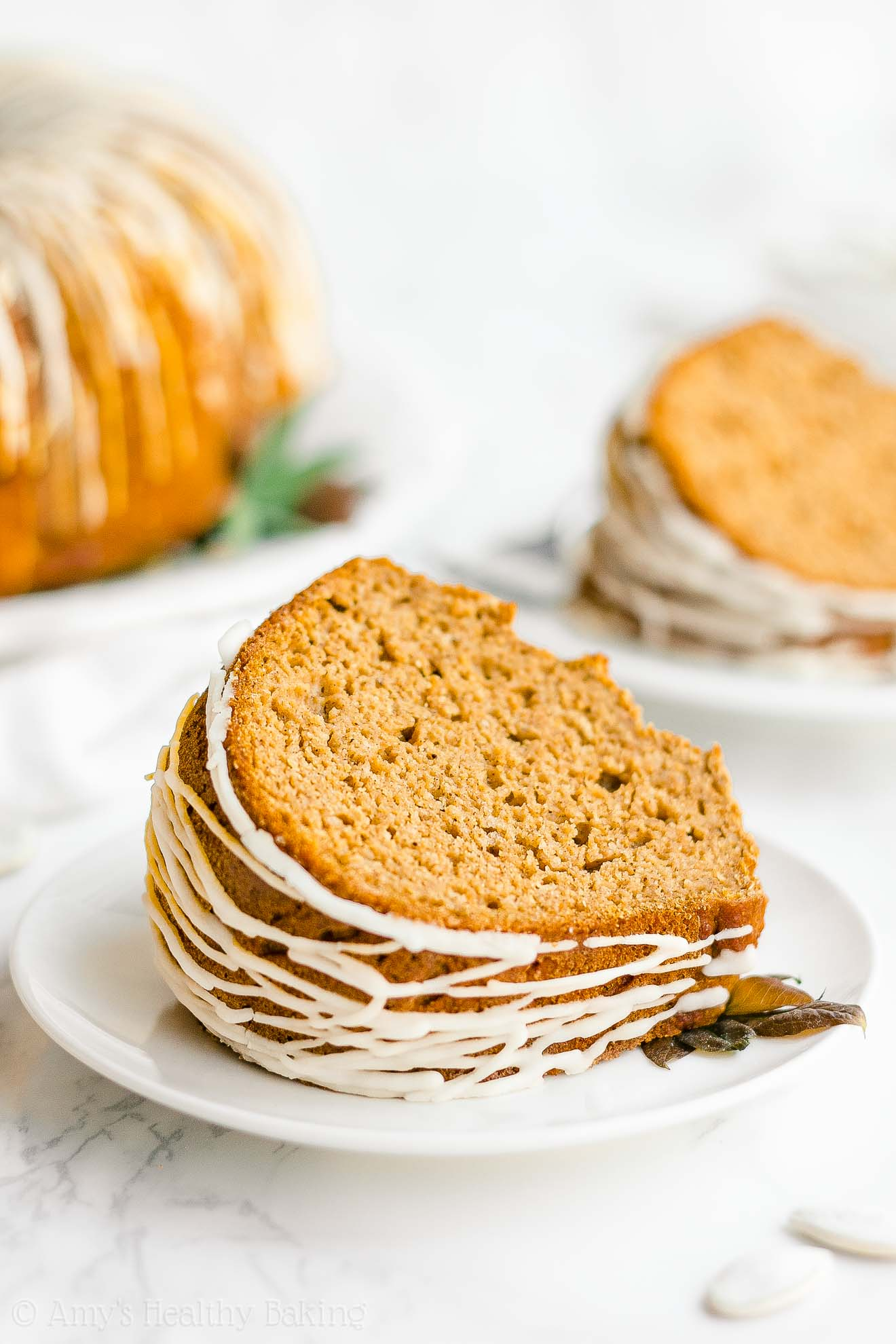 Easy Healthy Low Calorie Pumpkin Bundt Cake with Weight Watchers Points