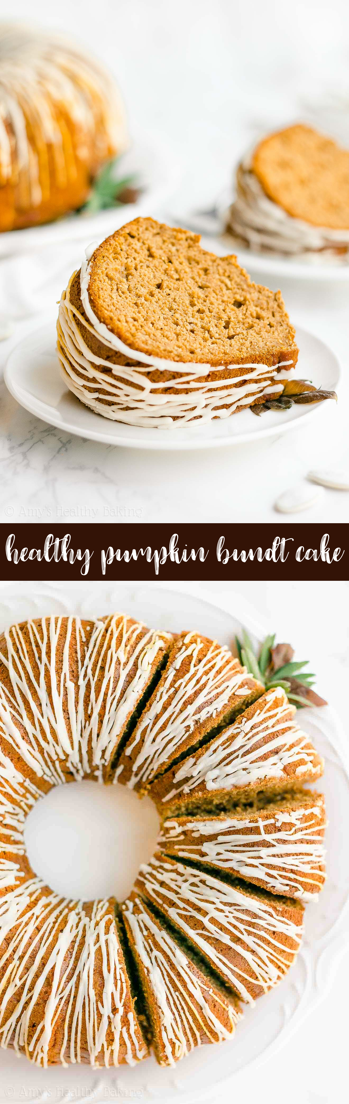 Crack Pumpkin Bundt Cake