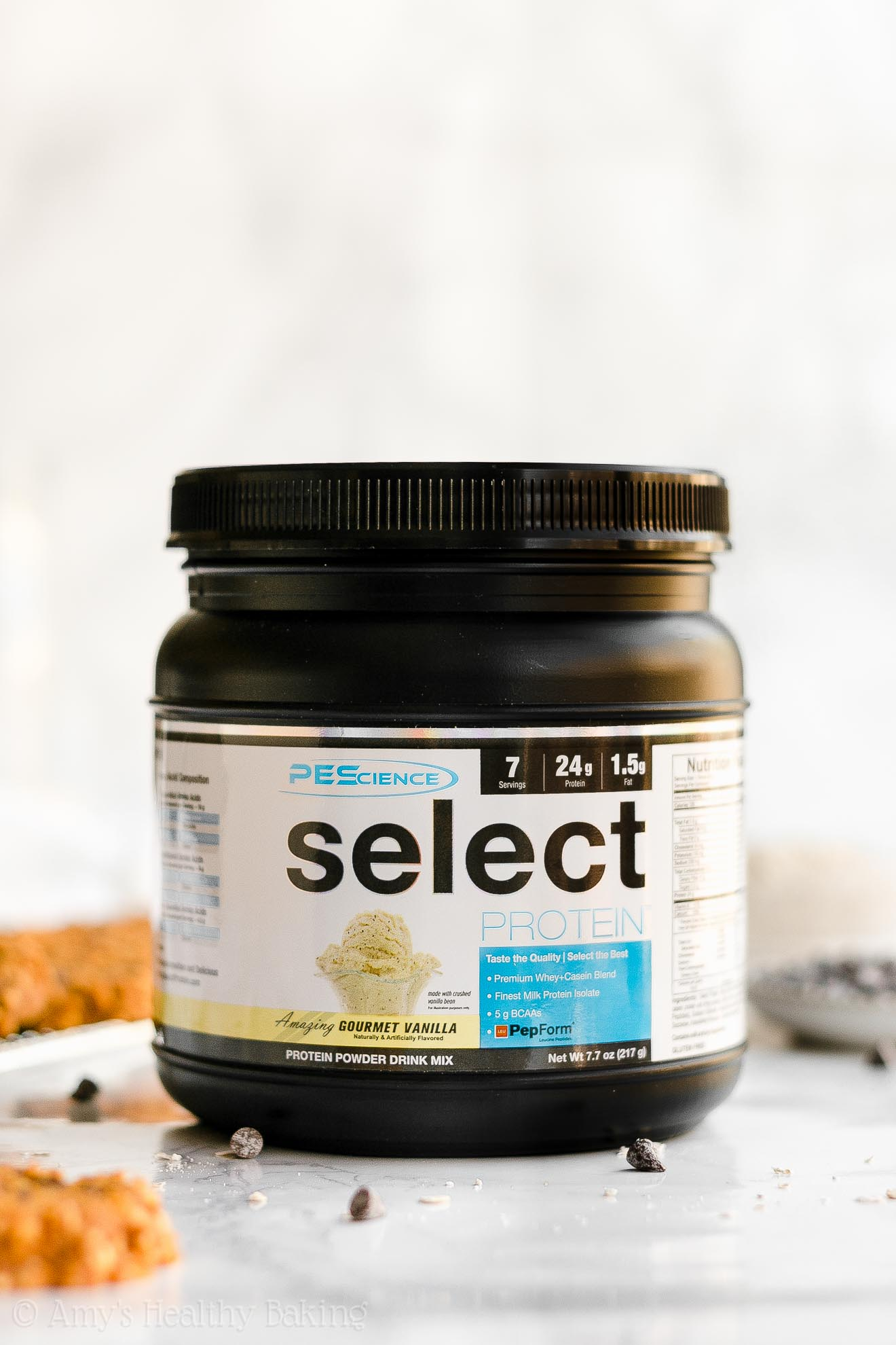 PEScience Gourmet Vanilla SELECT Protein Powder