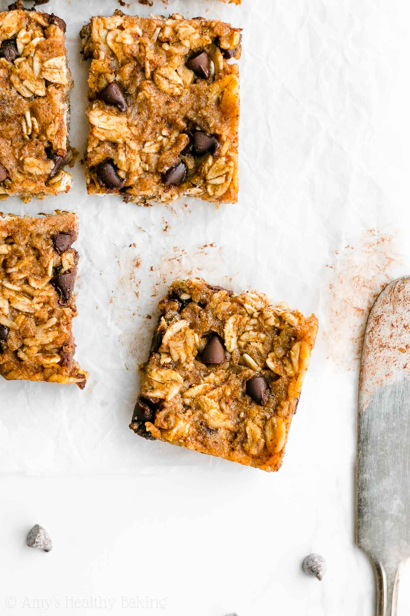Easy Healthy Gluten Free Chewy Pumpkin Chocolate Chip Granola Bar Bites